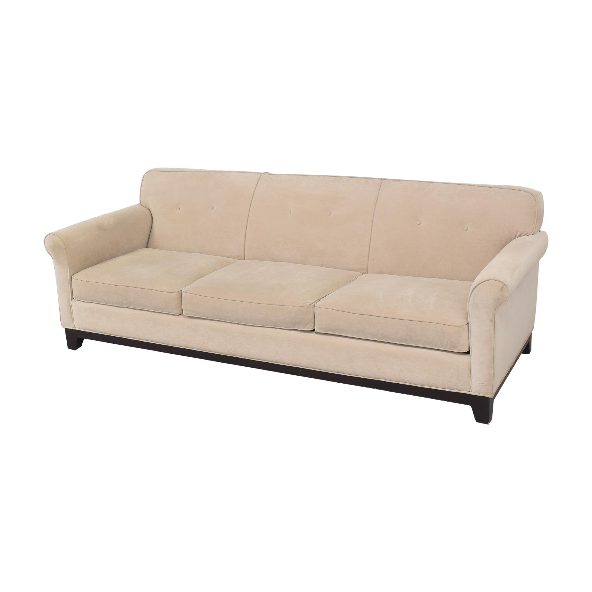 shop  Three Cushion Roll Arm Sofa online