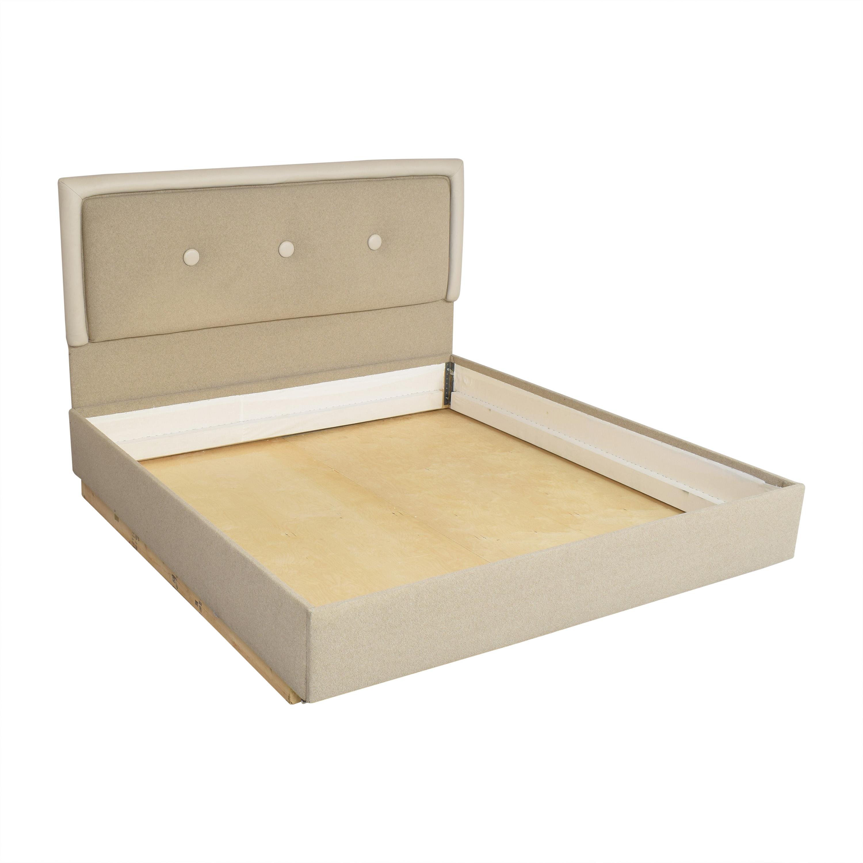 buy Custom Tufted King Bed