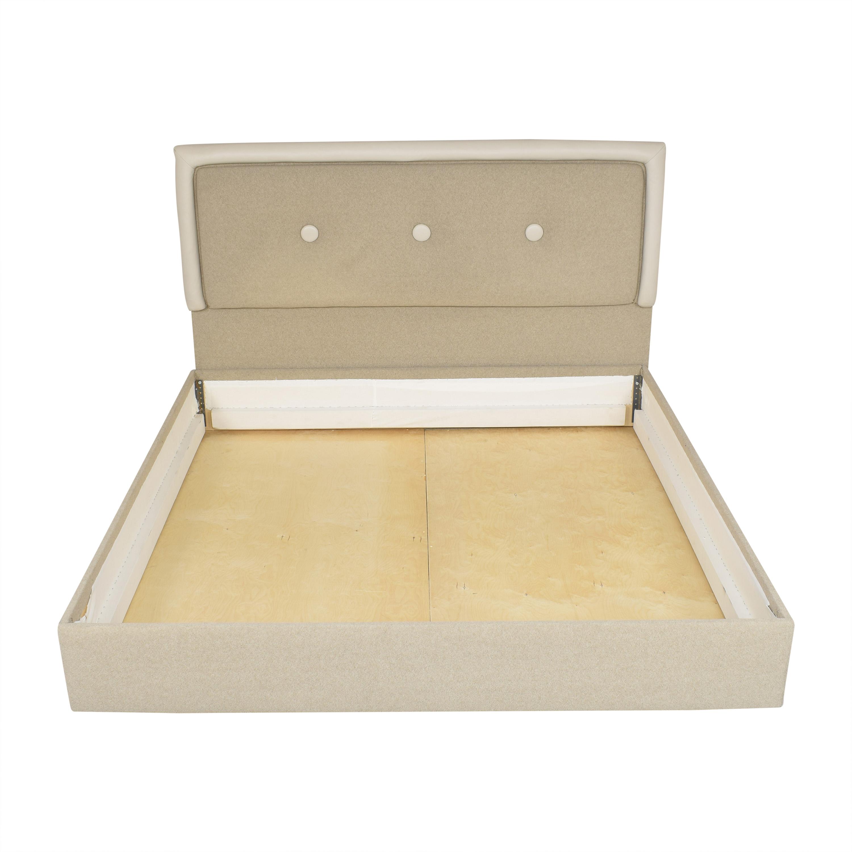 Custom Tufted King Bed on sale