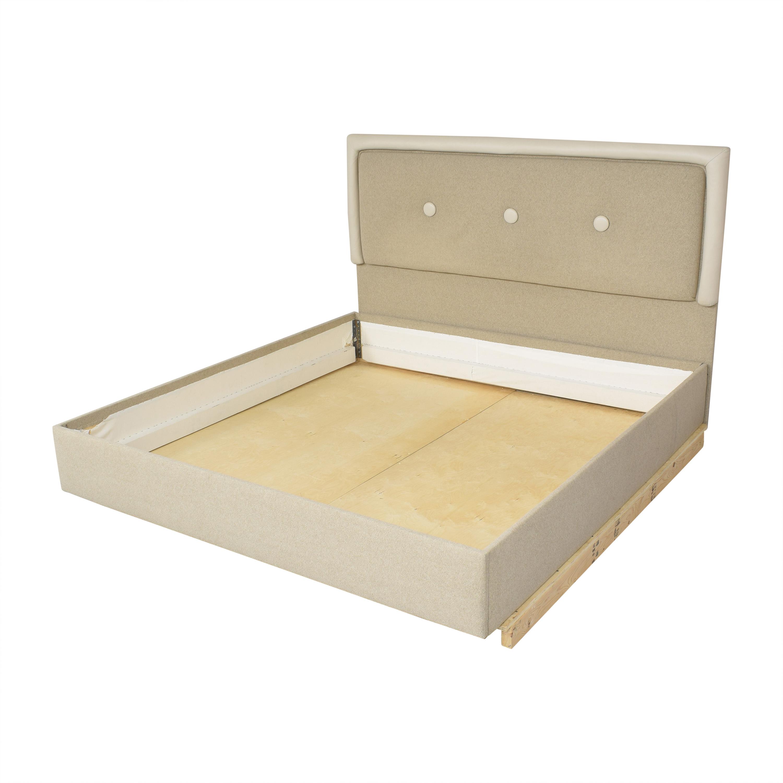 Custom Tufted King Bed Bed Frames