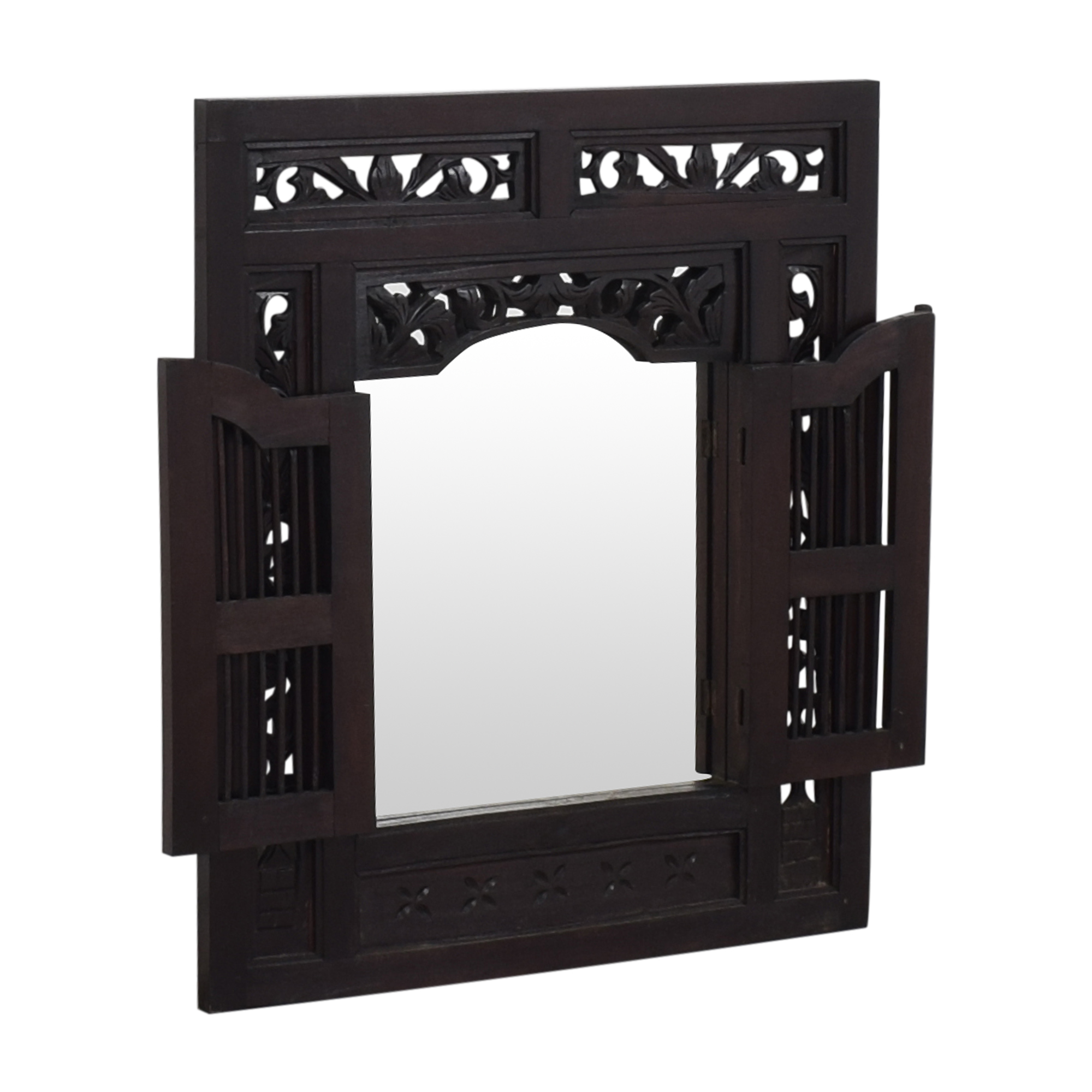 Indonesian-Style Wall Mirror  second hand