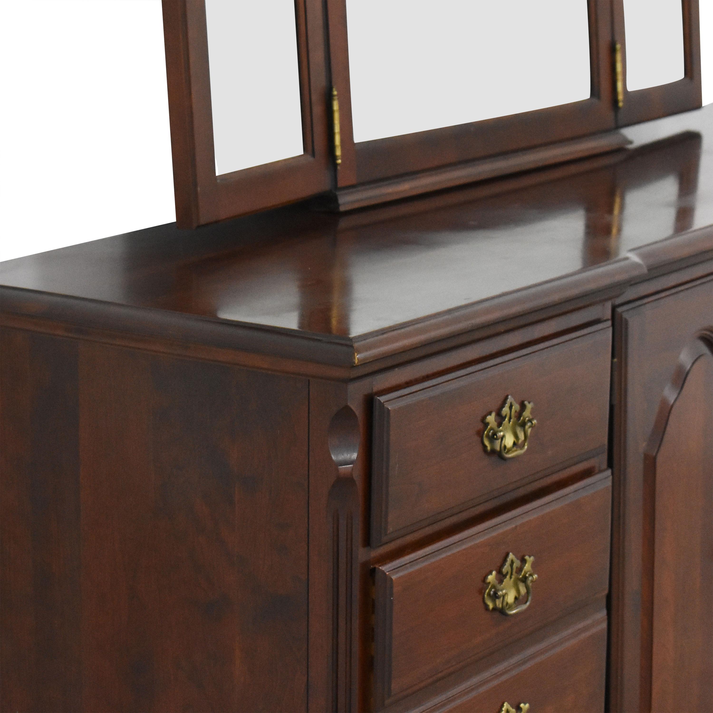 Pennsylvania House Pennsylvania House Dresser with Tri-Fold Mirror pa