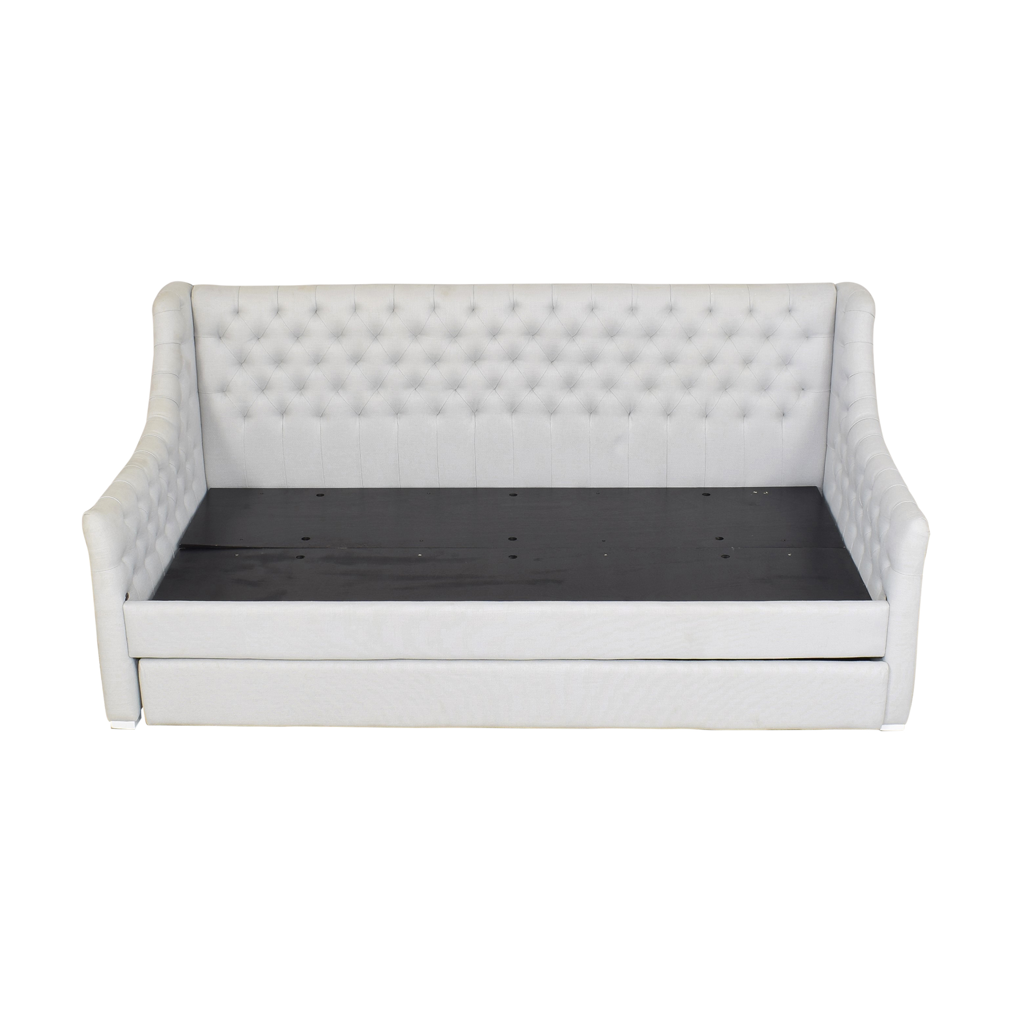 RH Baby & Child RH Baby & Child Devyn Tufted Twin Daybed with Trundle dimensions