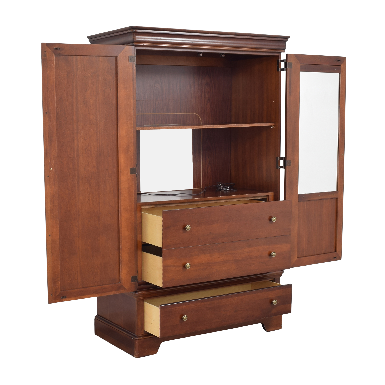 shop Stanley Furniture Media Armoire Stanley Furniture Wardrobes & Armoires
