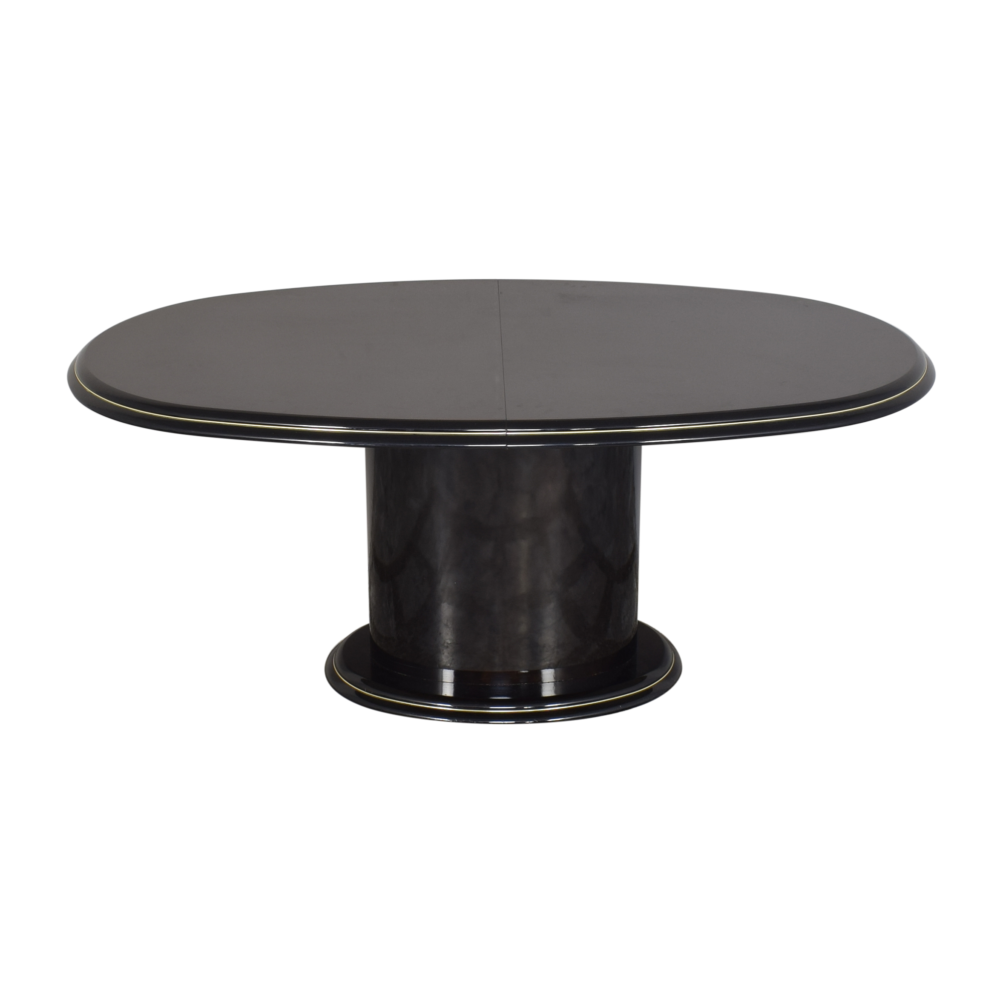 Extendable Single Pedestal Dining Table on sale