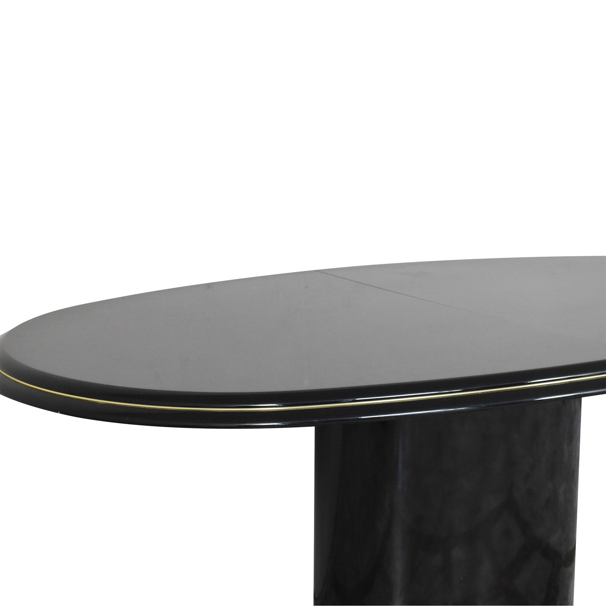 Extendable Single Pedestal Dining Table ct