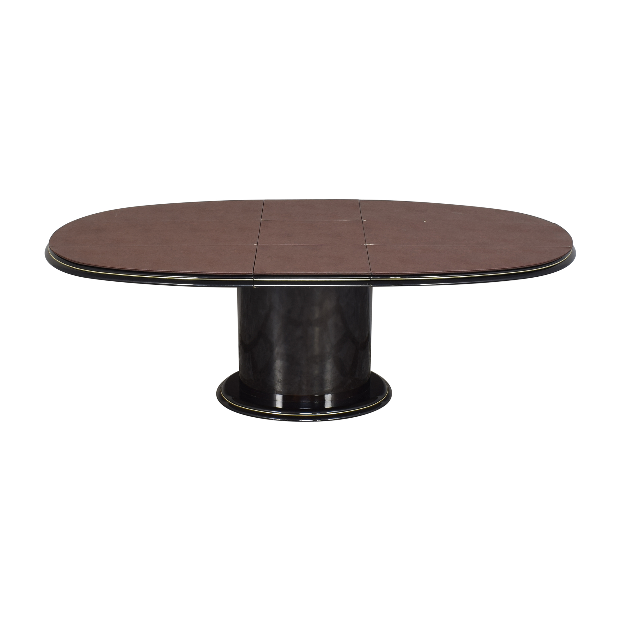 Extendable Single Pedestal Dining Table ma