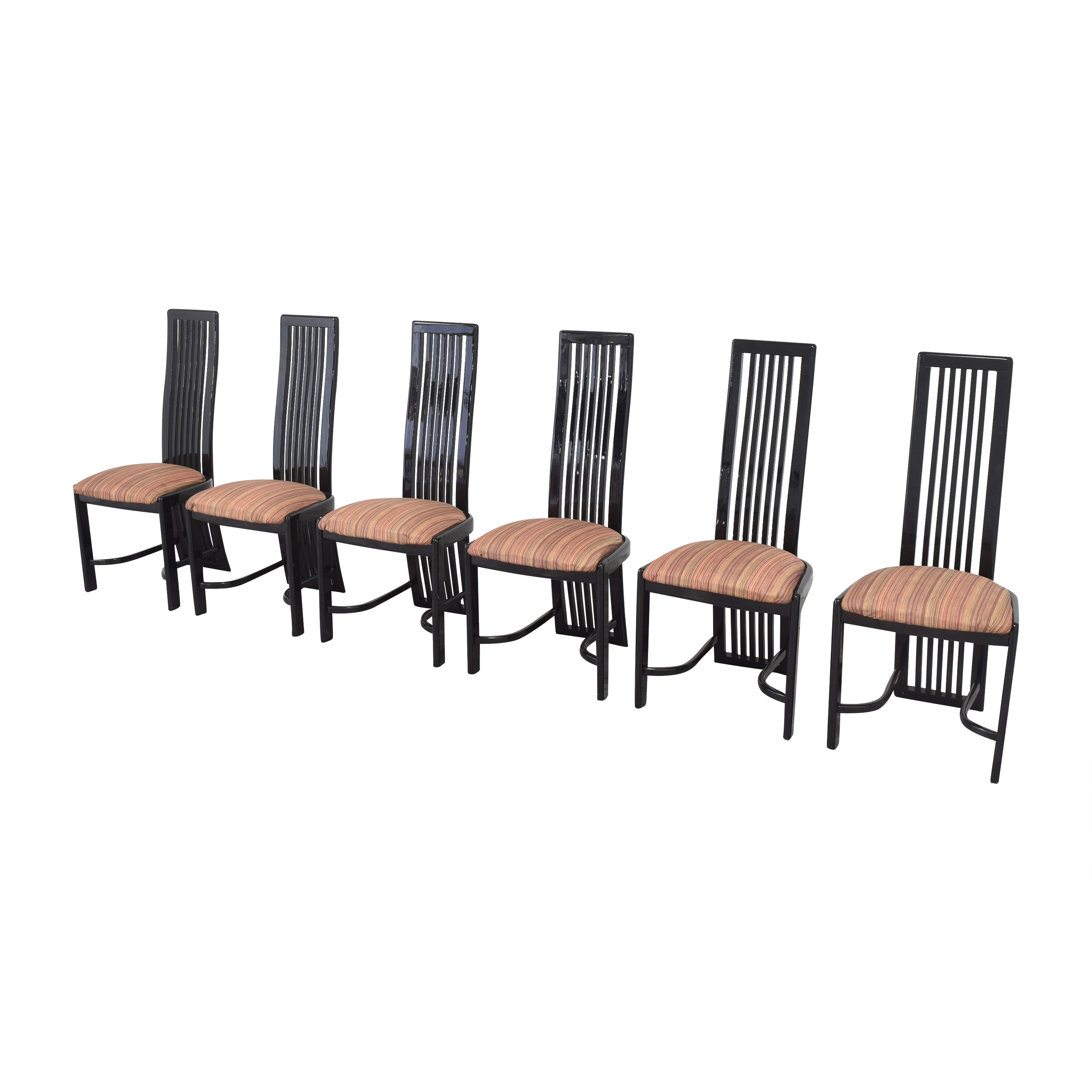 Italian-Style High Back Dining Chairs / Chairs