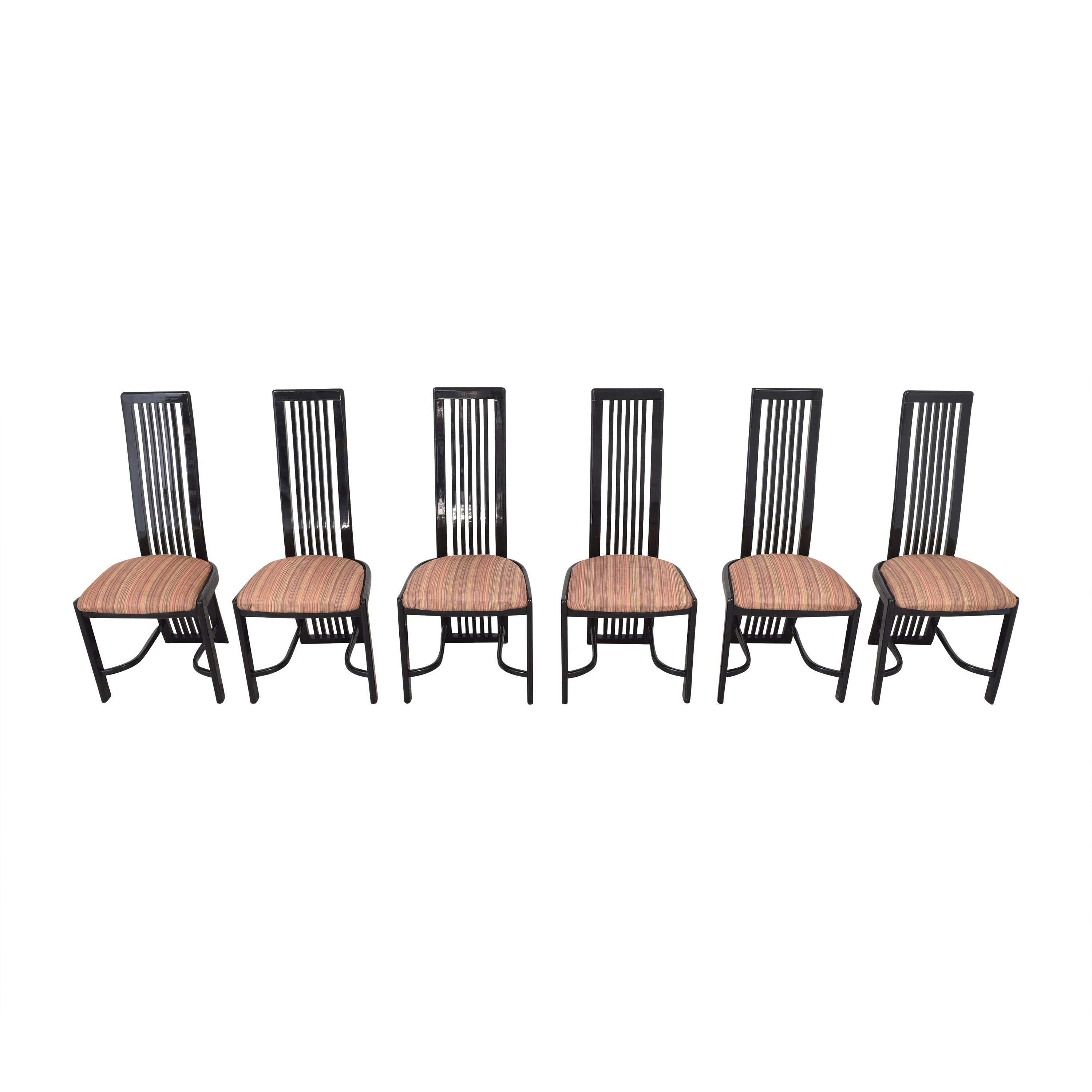 buy Italian-Style High Back Dining Chairs  Chairs