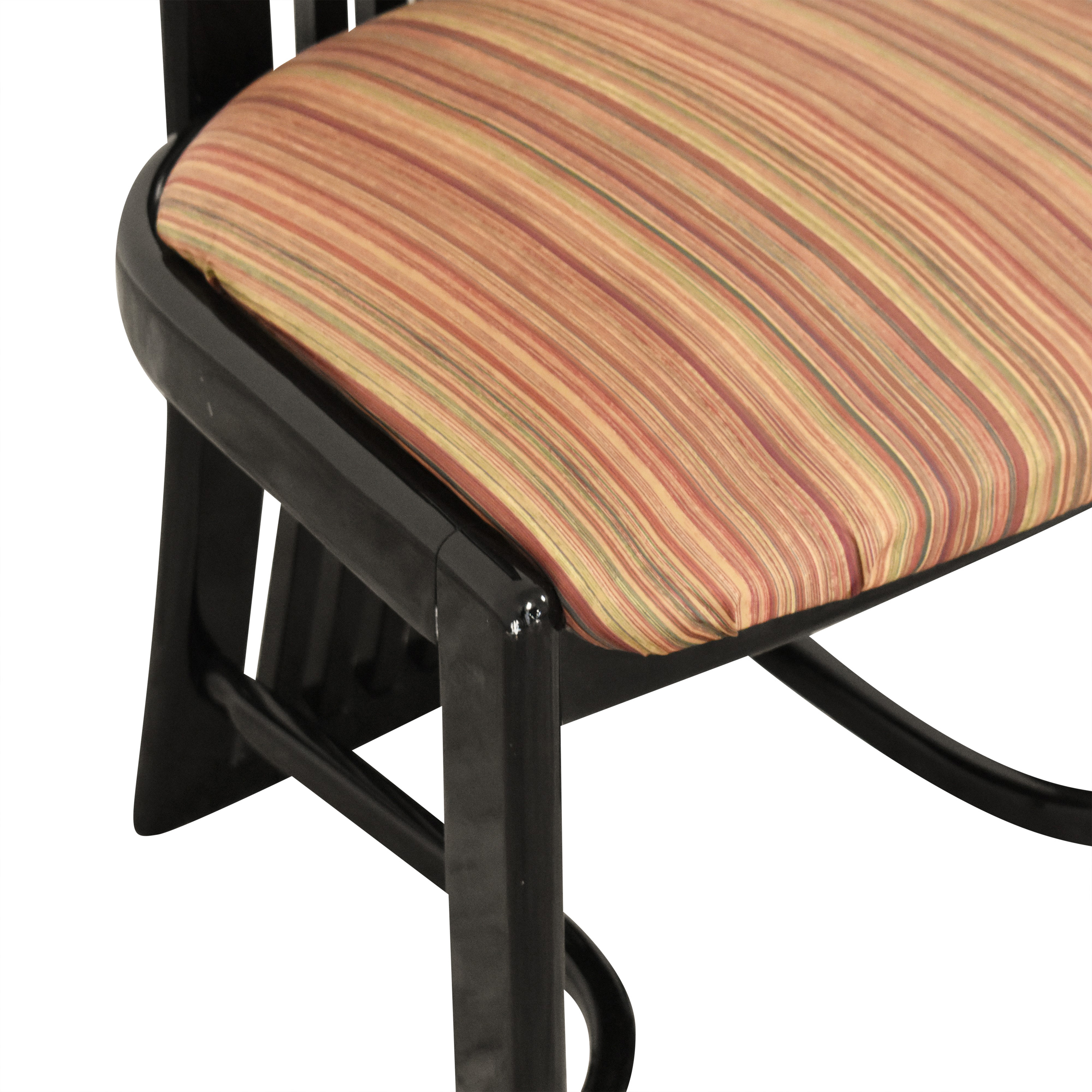 Italian-Style High Back Dining Chairs second hand