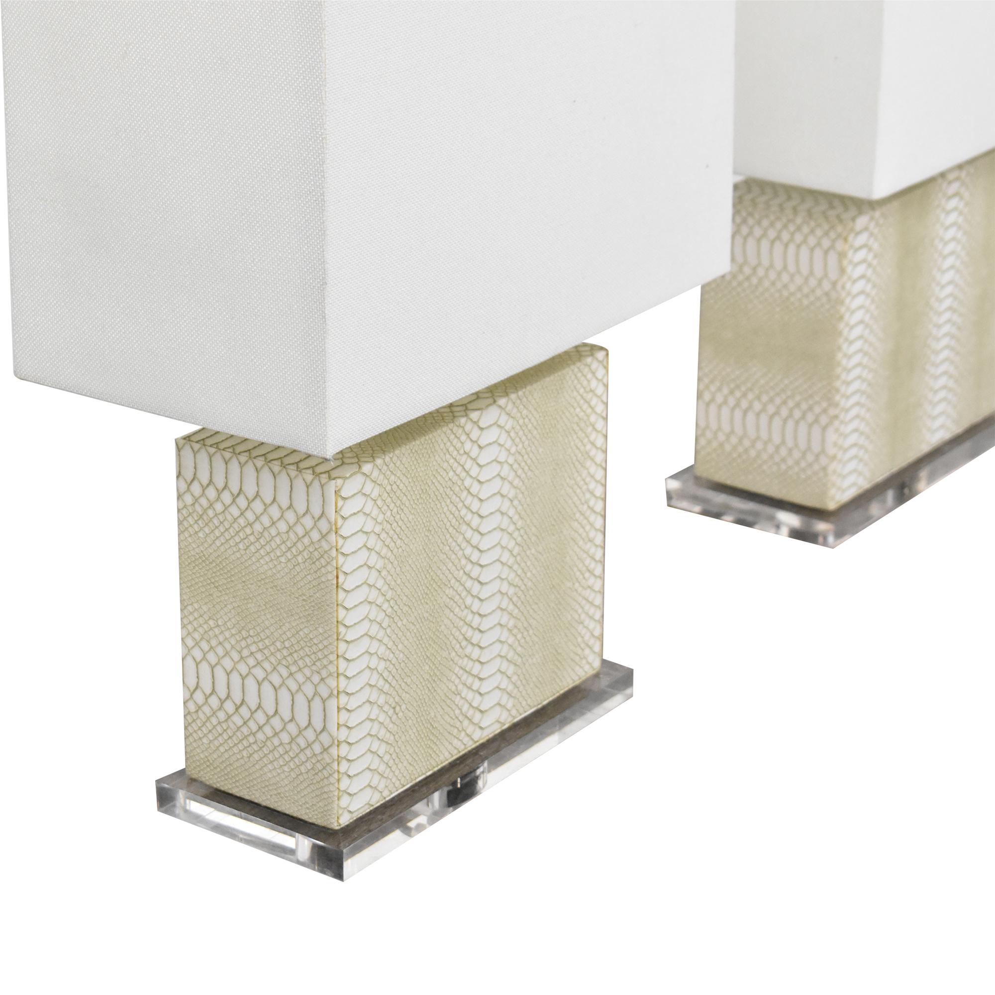 Safavieh Safavieh Delia Table Lamps dimensions