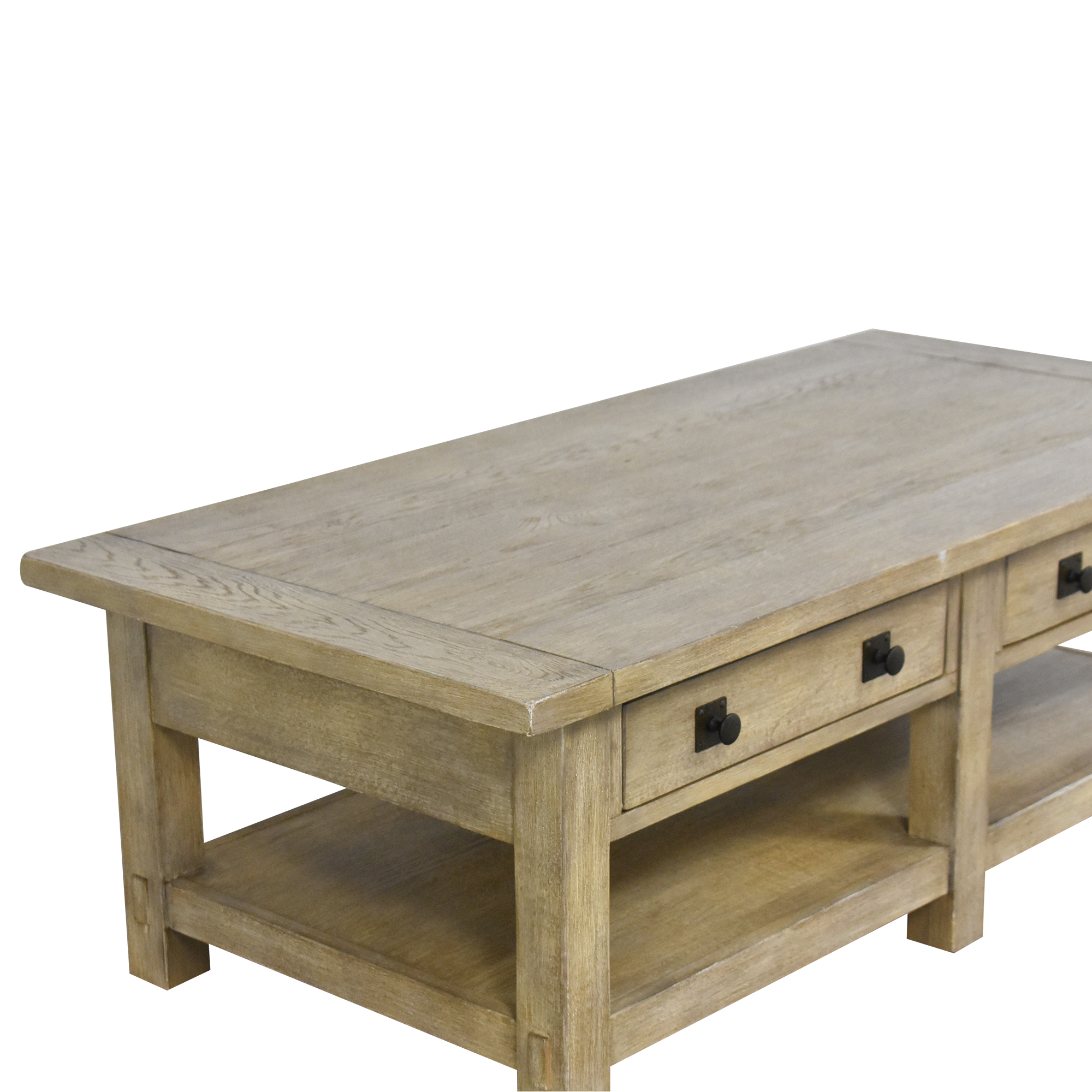 Pottery Barn Benchwright Coffee Table sale