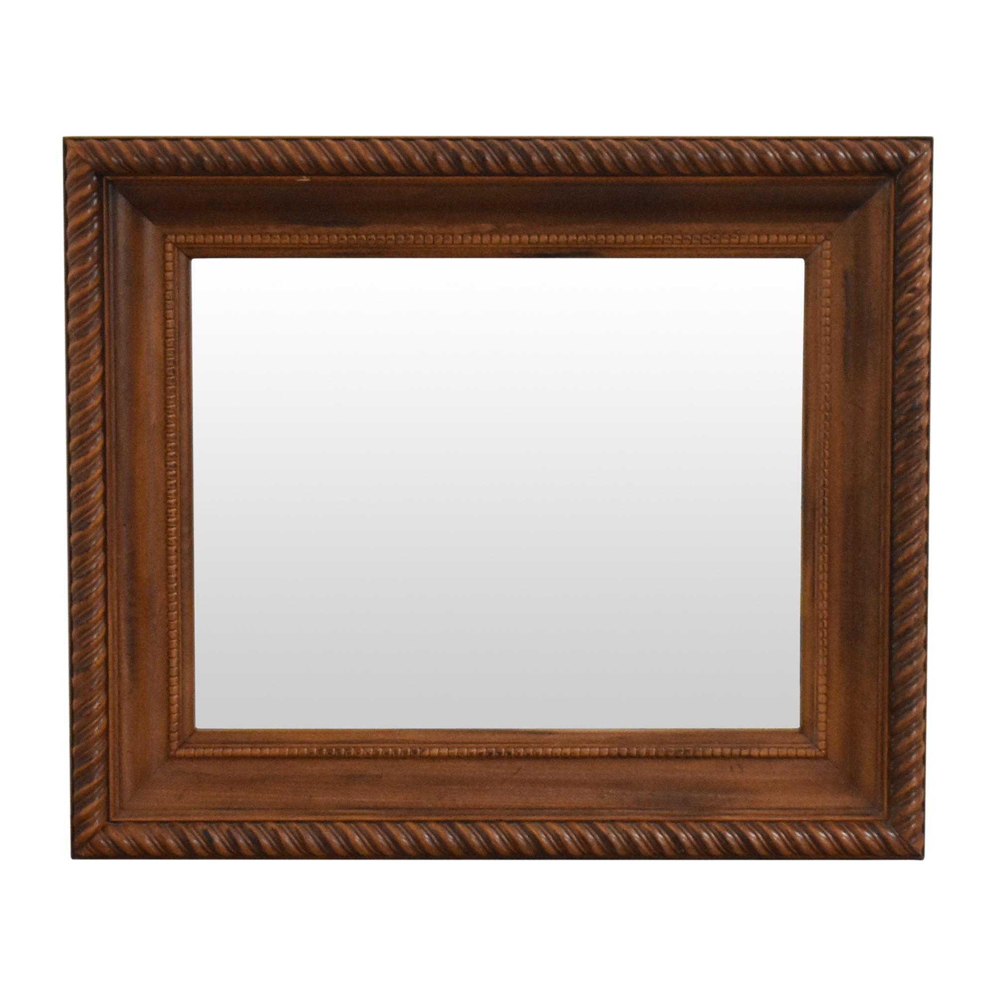 Cooper Classics Cooper Classics Barley Twist Framed Mirror on sale