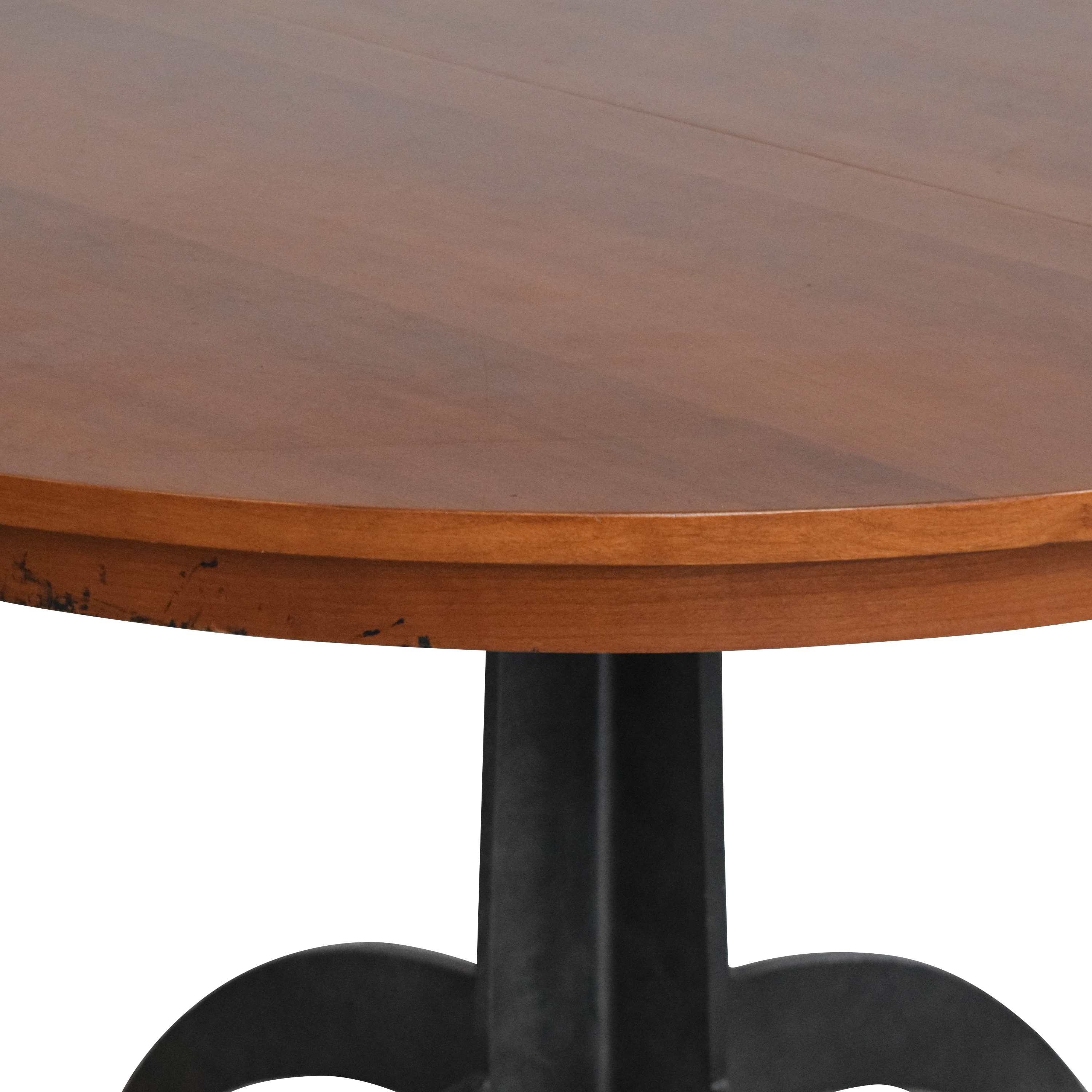 Ethan Allen Ethan Allen Round Extendable Dining Table nyc