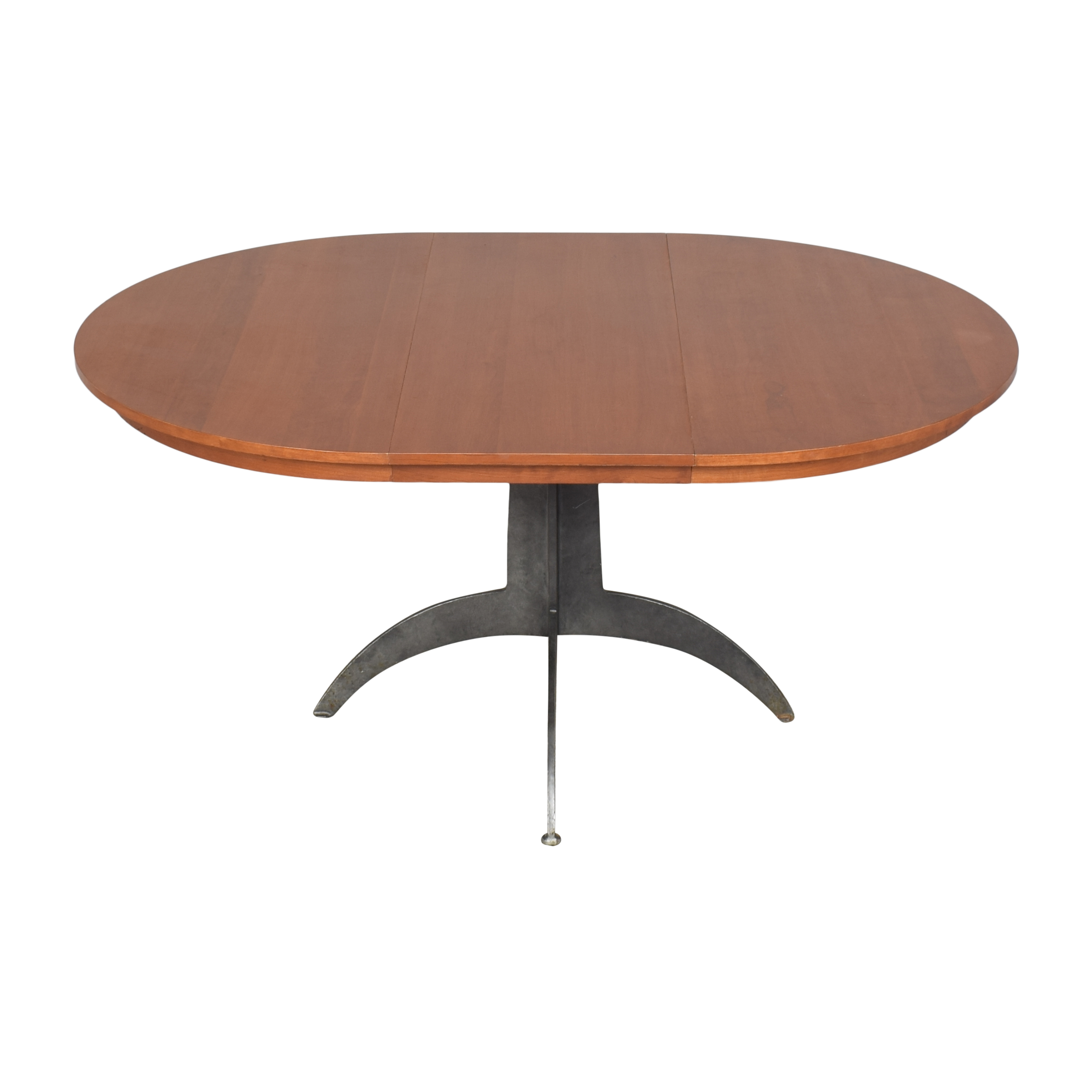 shop Ethan Allen Round Extendable Dining Table Ethan Allen Dinner Tables