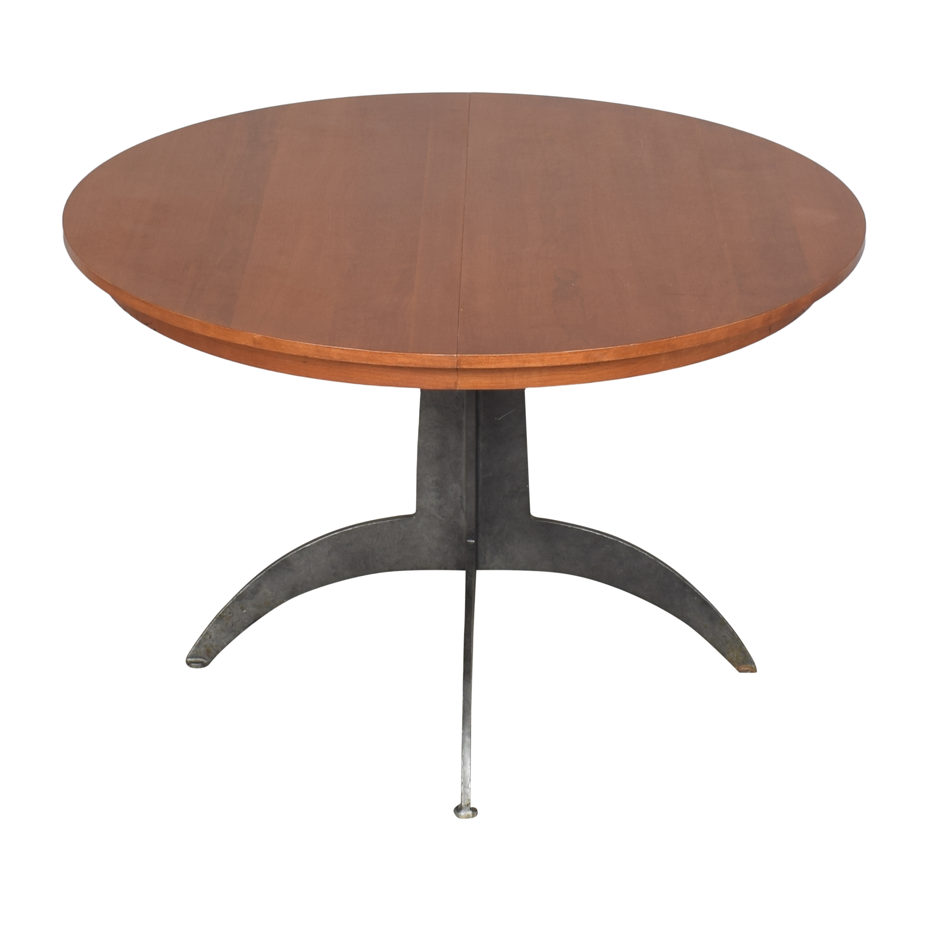 Ethan Allen Ethan Allen Round Extendable Dining Table second hand