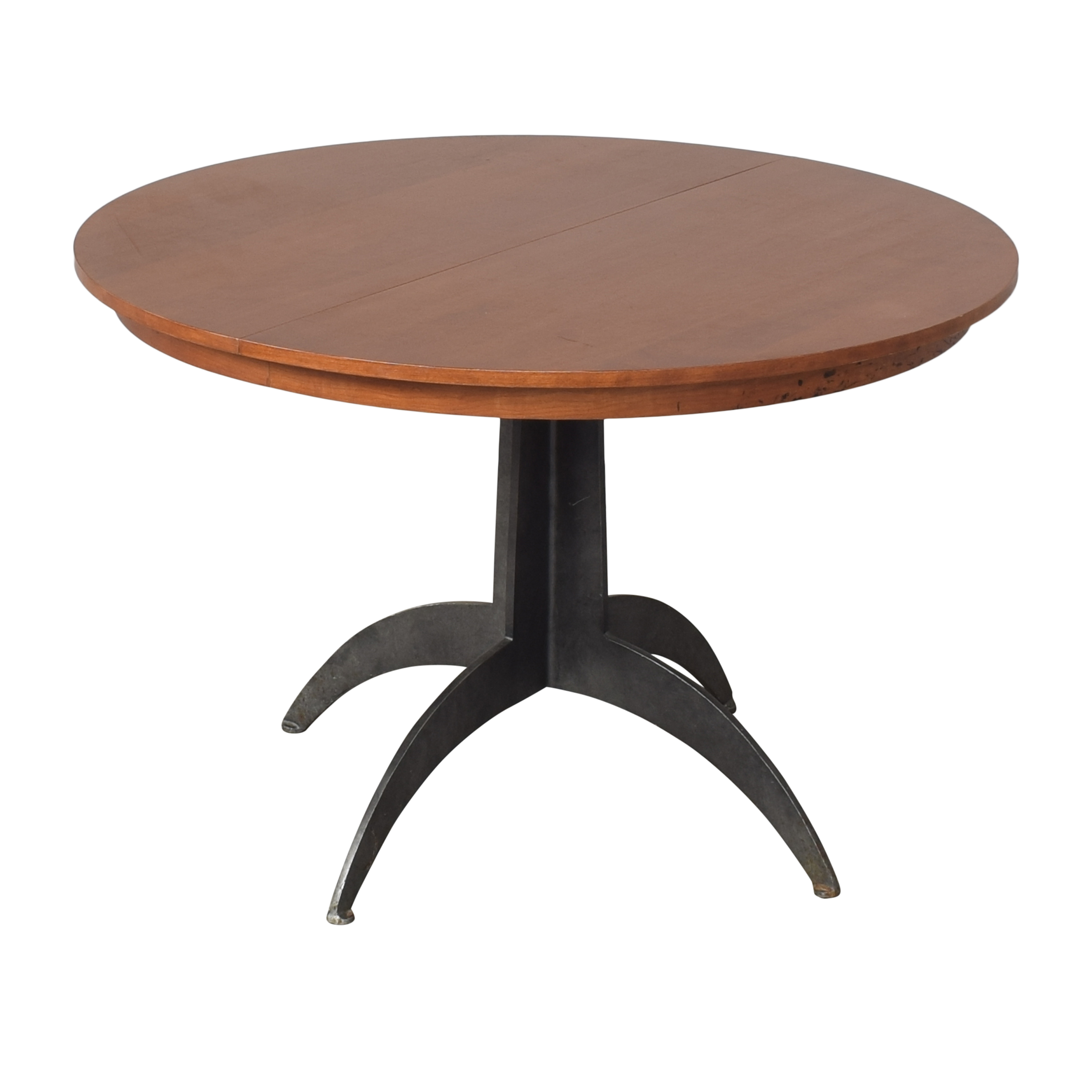 buy Ethan Allen Round Extendable Dining Table Ethan Allen Tables