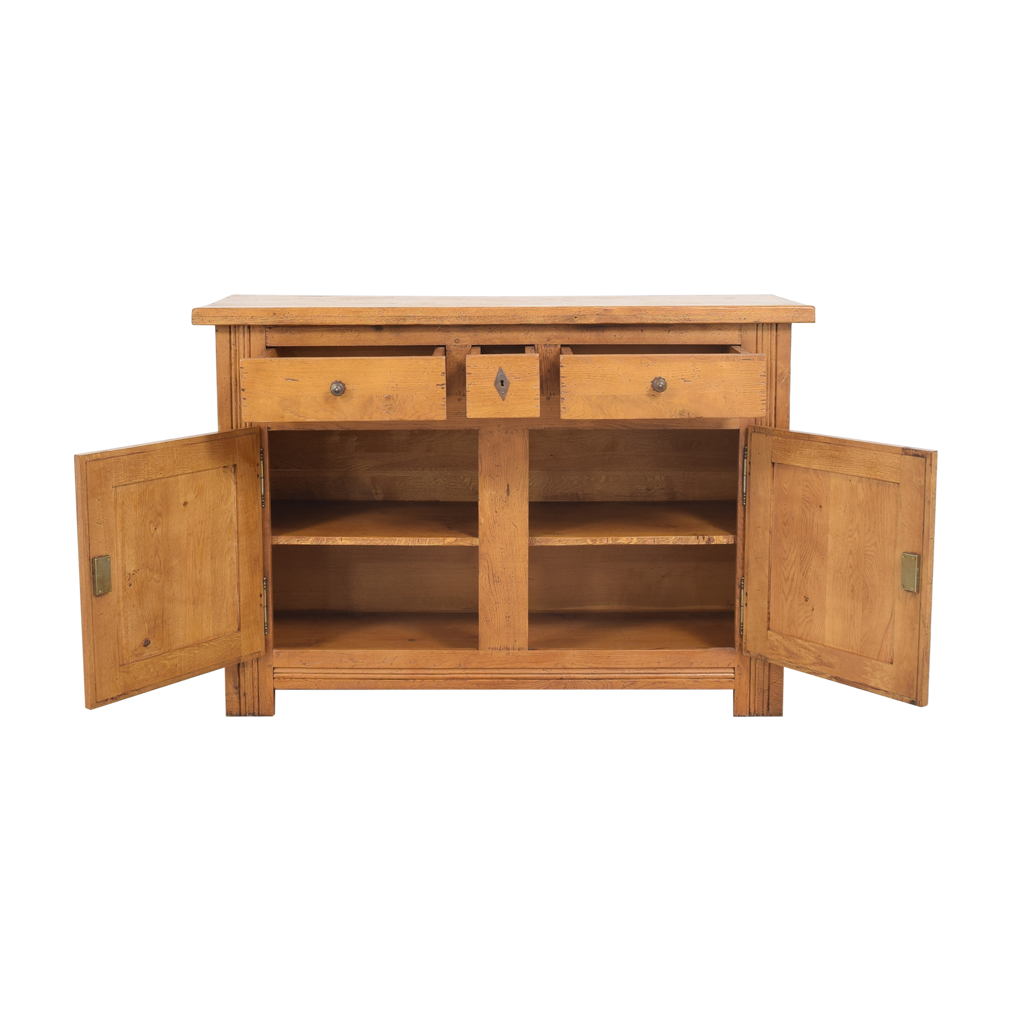 Crate and Barrel Two Door Sideboard / Storage