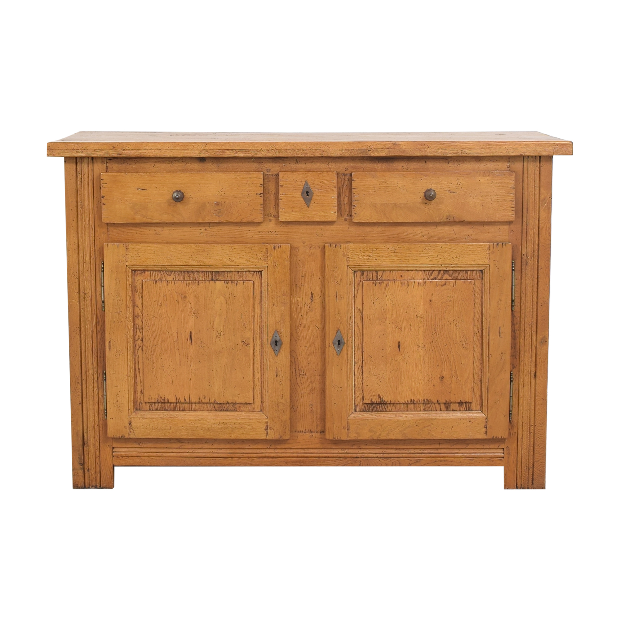 shop Crate and Barrel Two Door Sideboard Crate & Barrel Cabinets & Sideboards