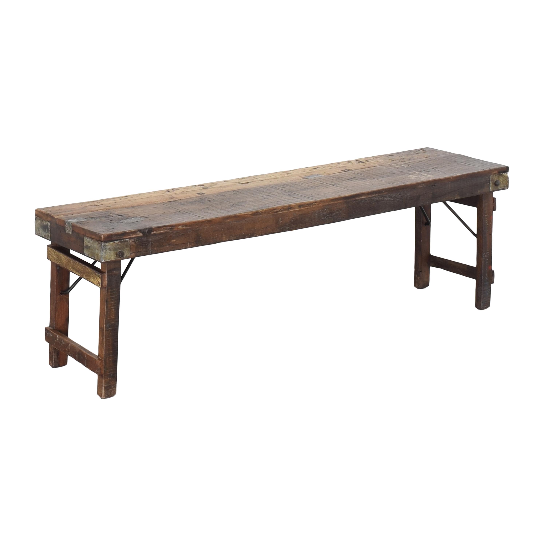 shop A & G Merch Rustic Bench A & G Merch Dinner Tables