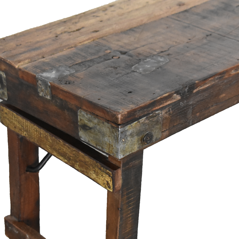 A & G Merch A & G Merch Rustic Bench Tables