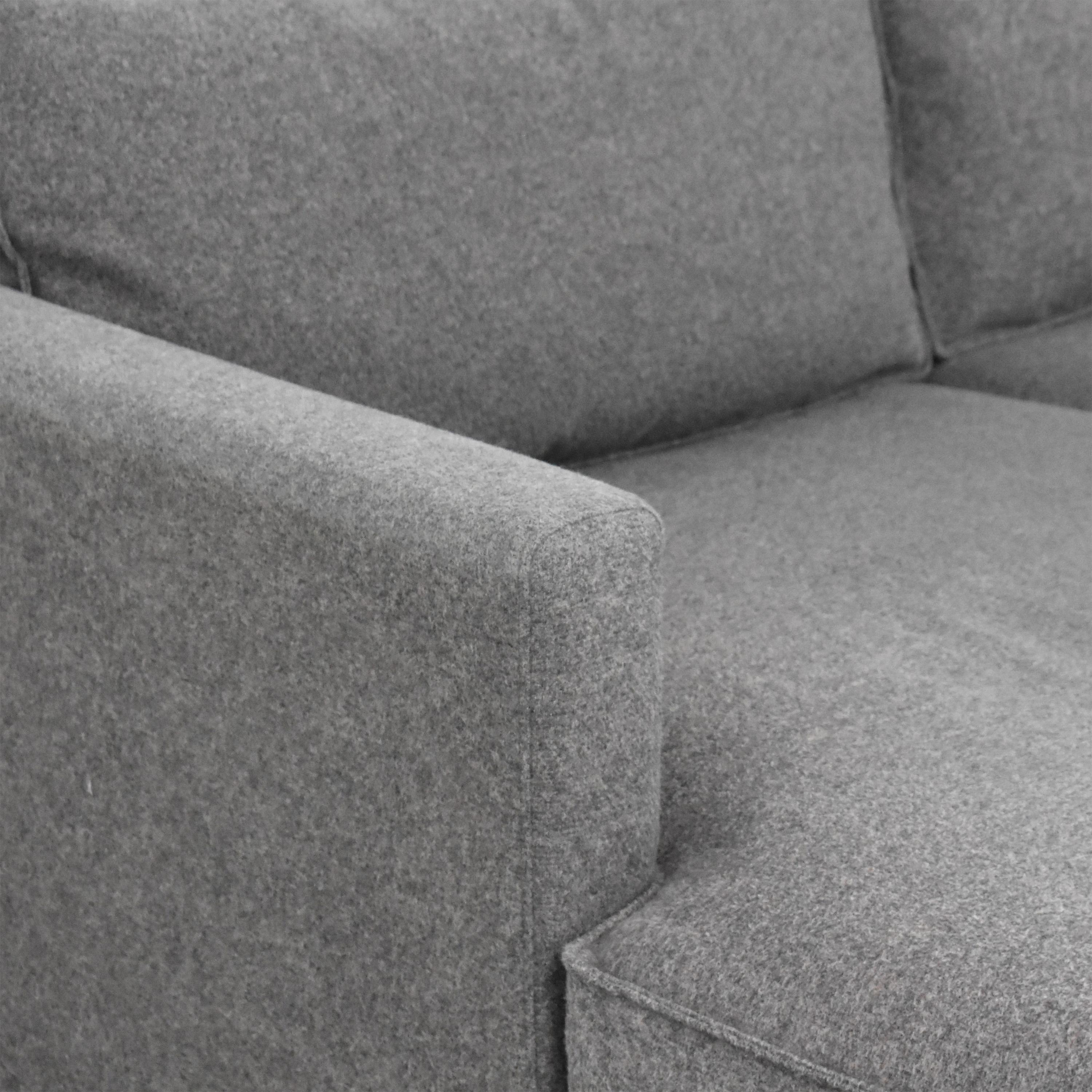 A & G Merch A & G Merch Two Piece Sectional Sofa with Chaise pa