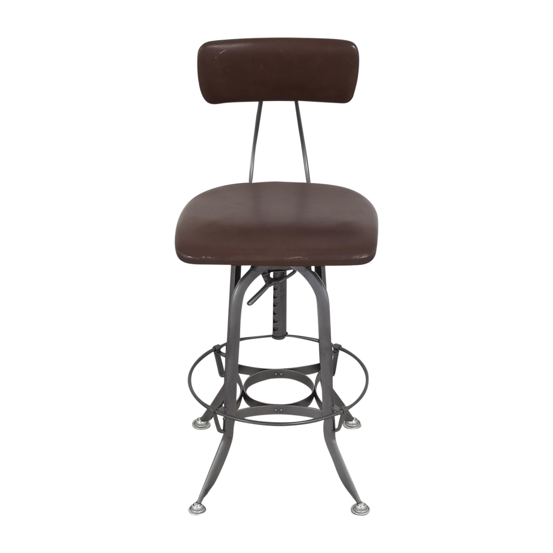 shop Restoration Hardware 1940s Vintage Toledo Bar Chair Restoration Hardware Chairs
