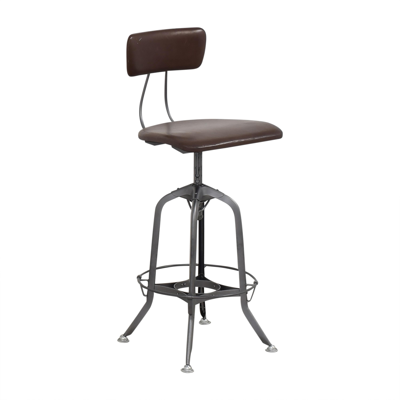 Restoration Hardware 1940s Vintage Toledo Bar Chair / Stools