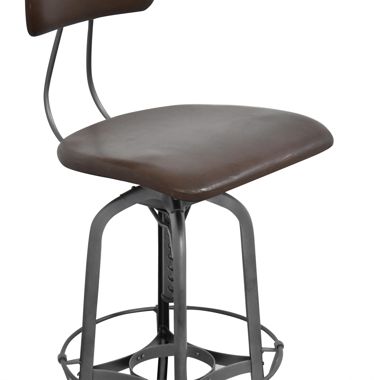 Restoration Hardware 1940s Vintage Toledo Bar Chair / Chairs