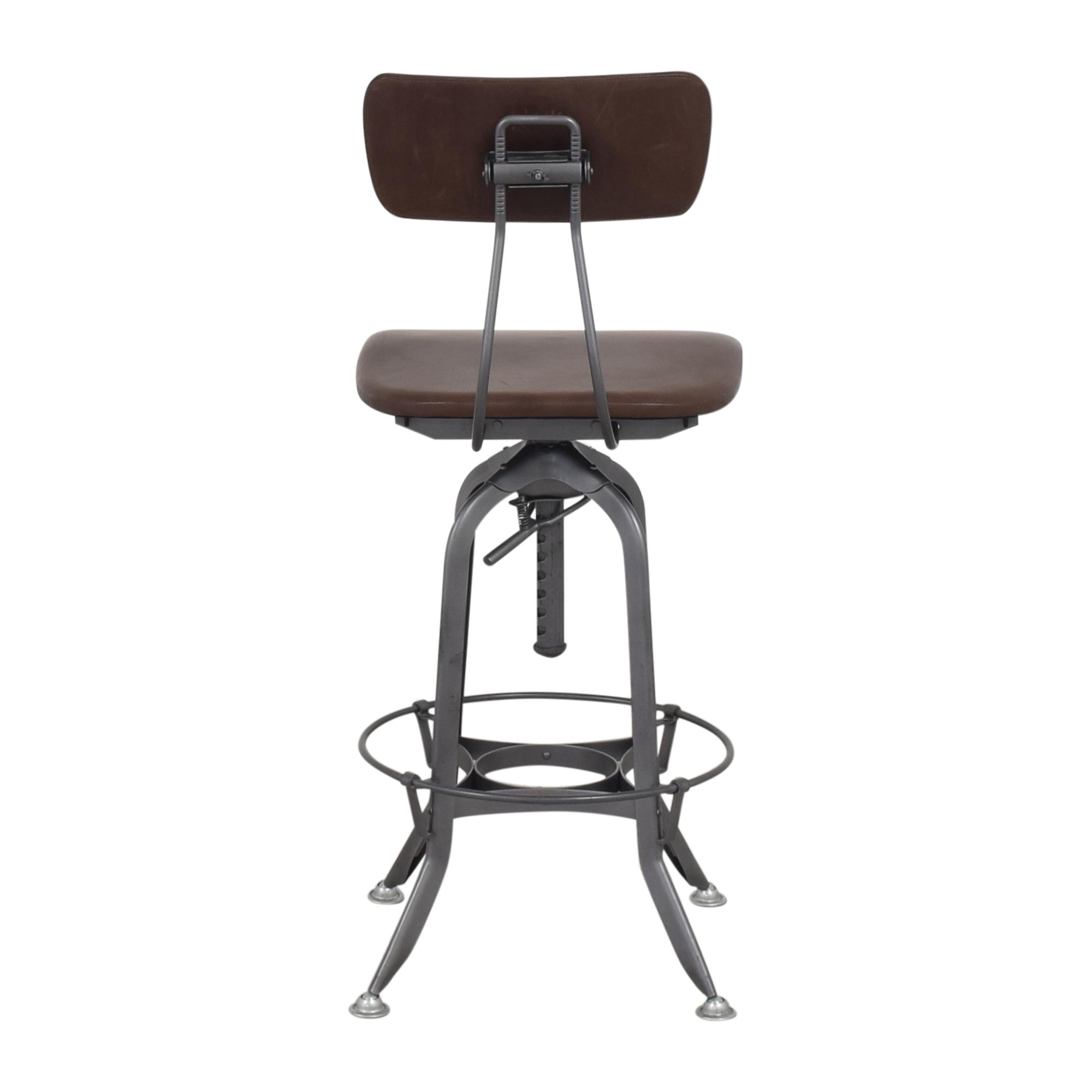 buy Restoration Hardware Restoration Hardware 1940s Vintage Toledo Bar Chair online