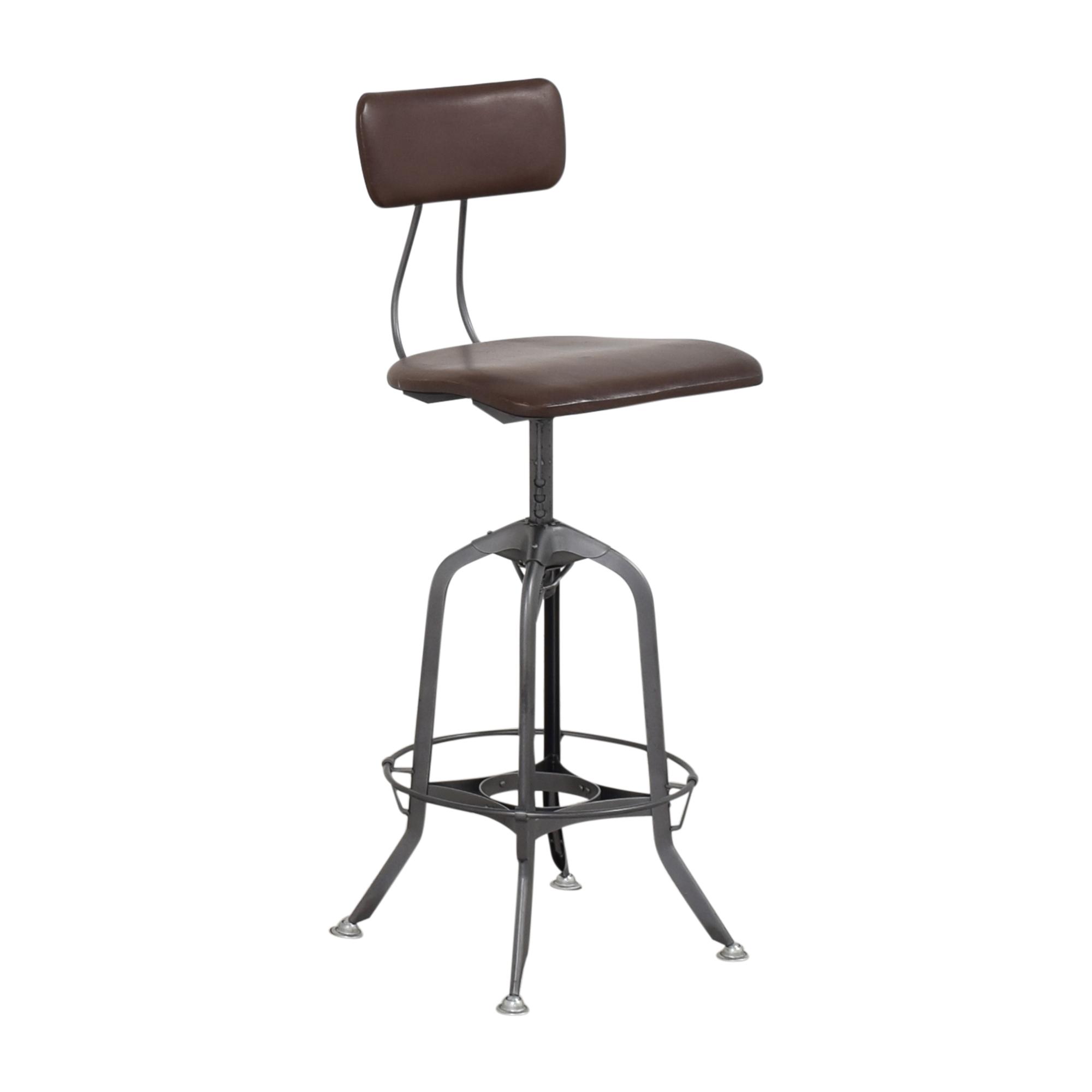 buy Restoration Hardware 1940s Vintage Toledo Bar Chair Restoration Hardware Stools