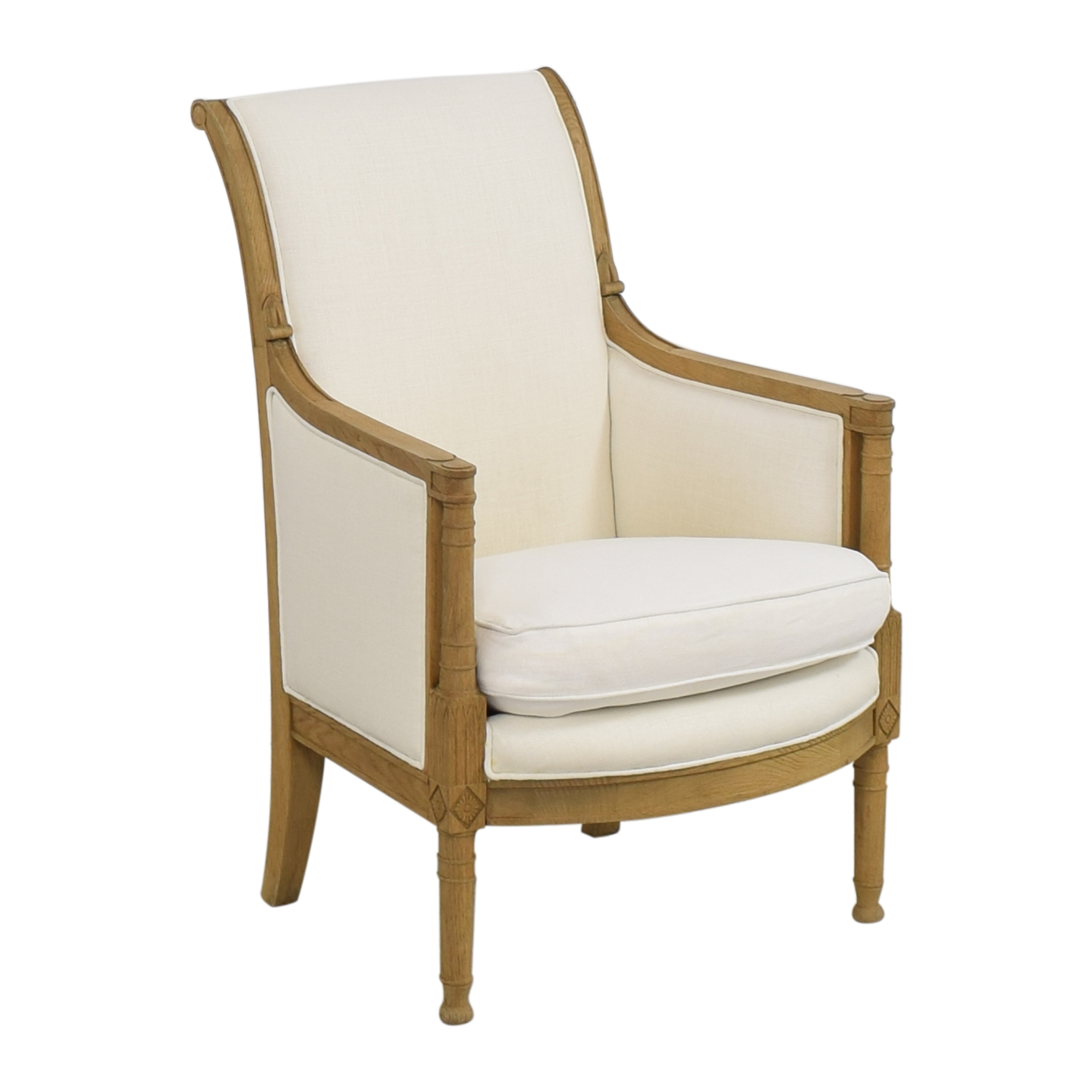 Restoration Hardware Restoration Hardware French Contemporary Chair for sale