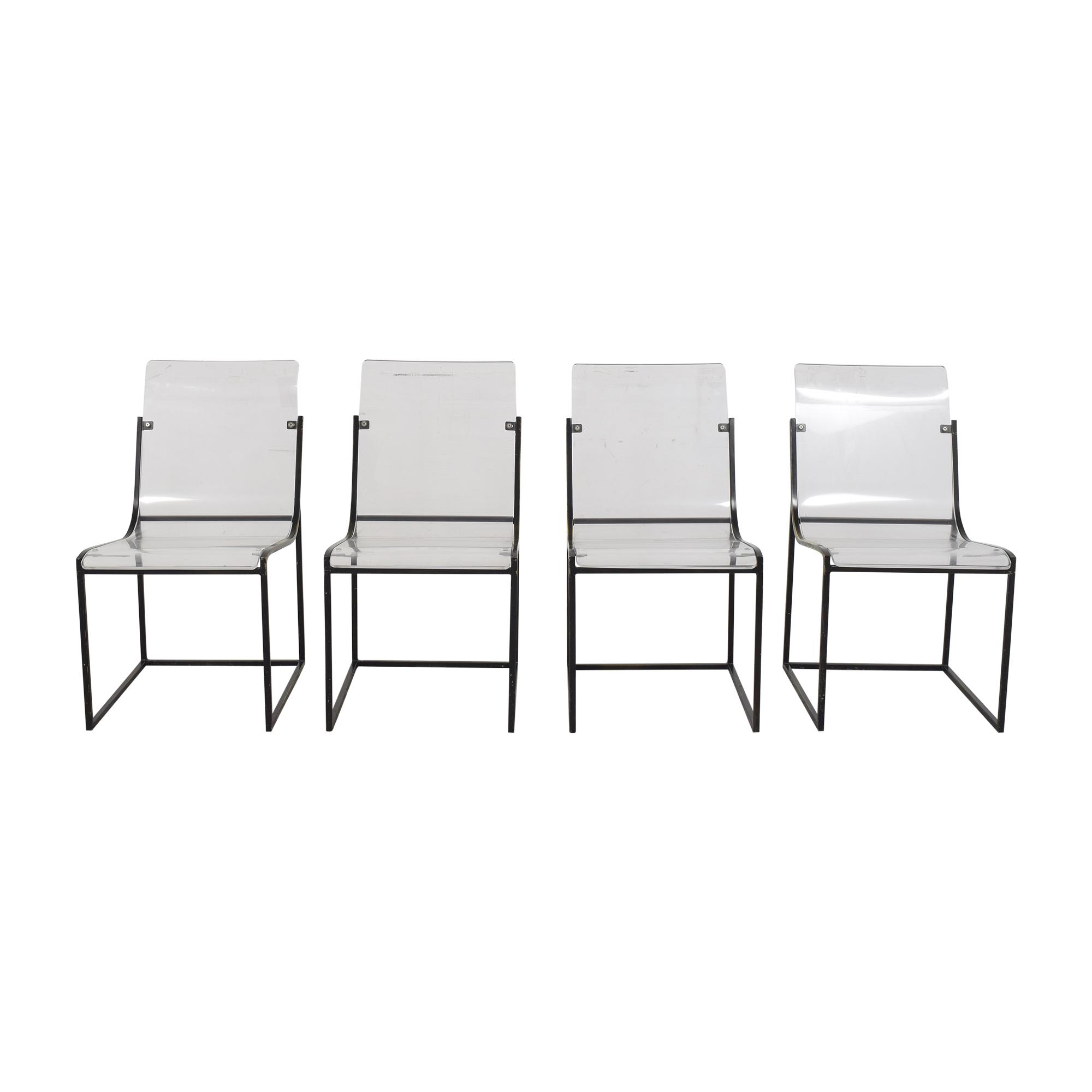 Noir Noir Pascoe Dining Chairs dimensions