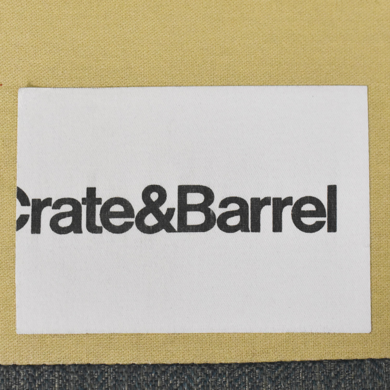 buy Crate & Barrel Aidan Tufted Sofa Crate & Barrel Classic Sofas