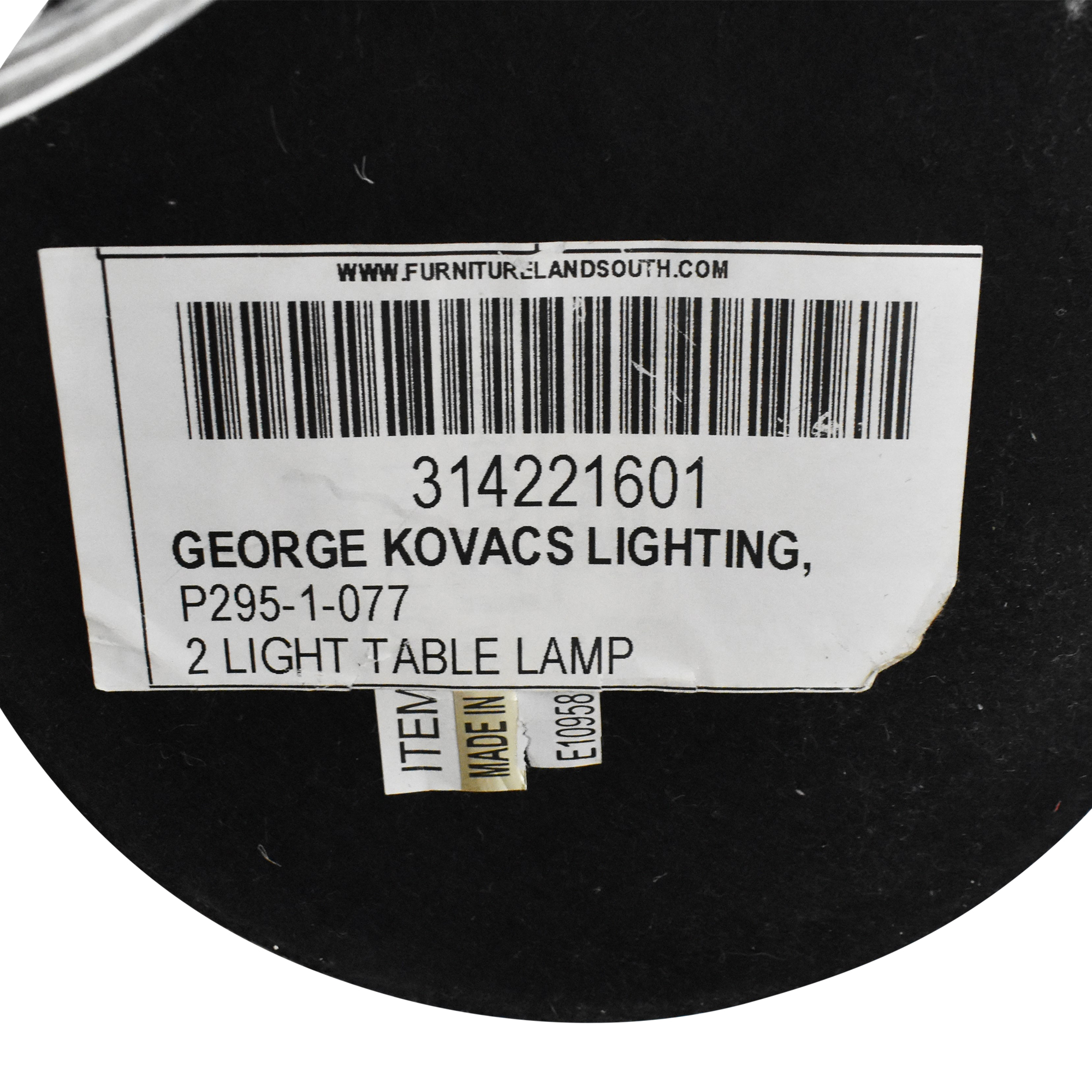 George Kovacs George Kovacs Stacked Ball Table Lamp Lamps