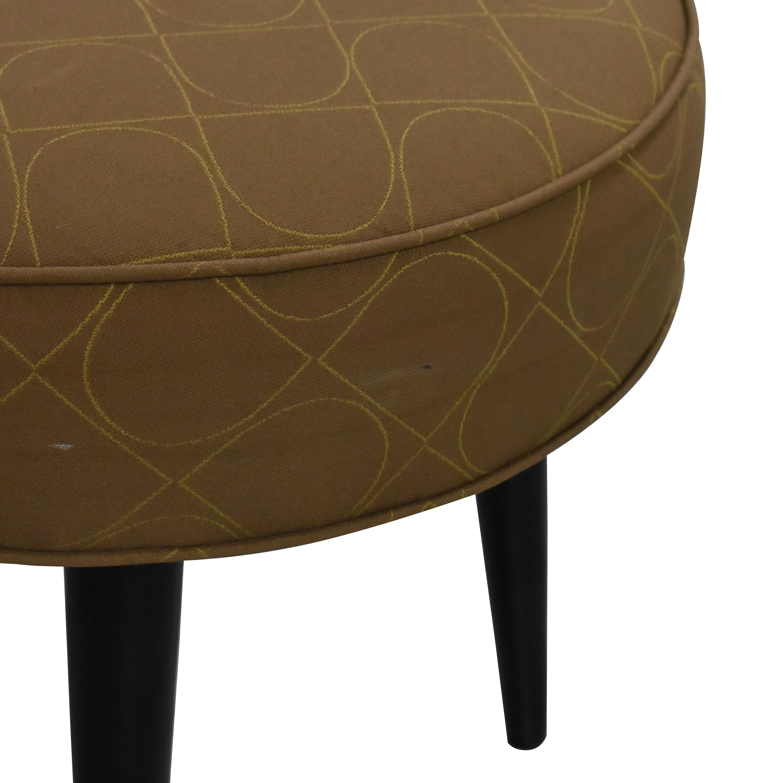 Room & Board Room & Board Round Ottoman  Chairs