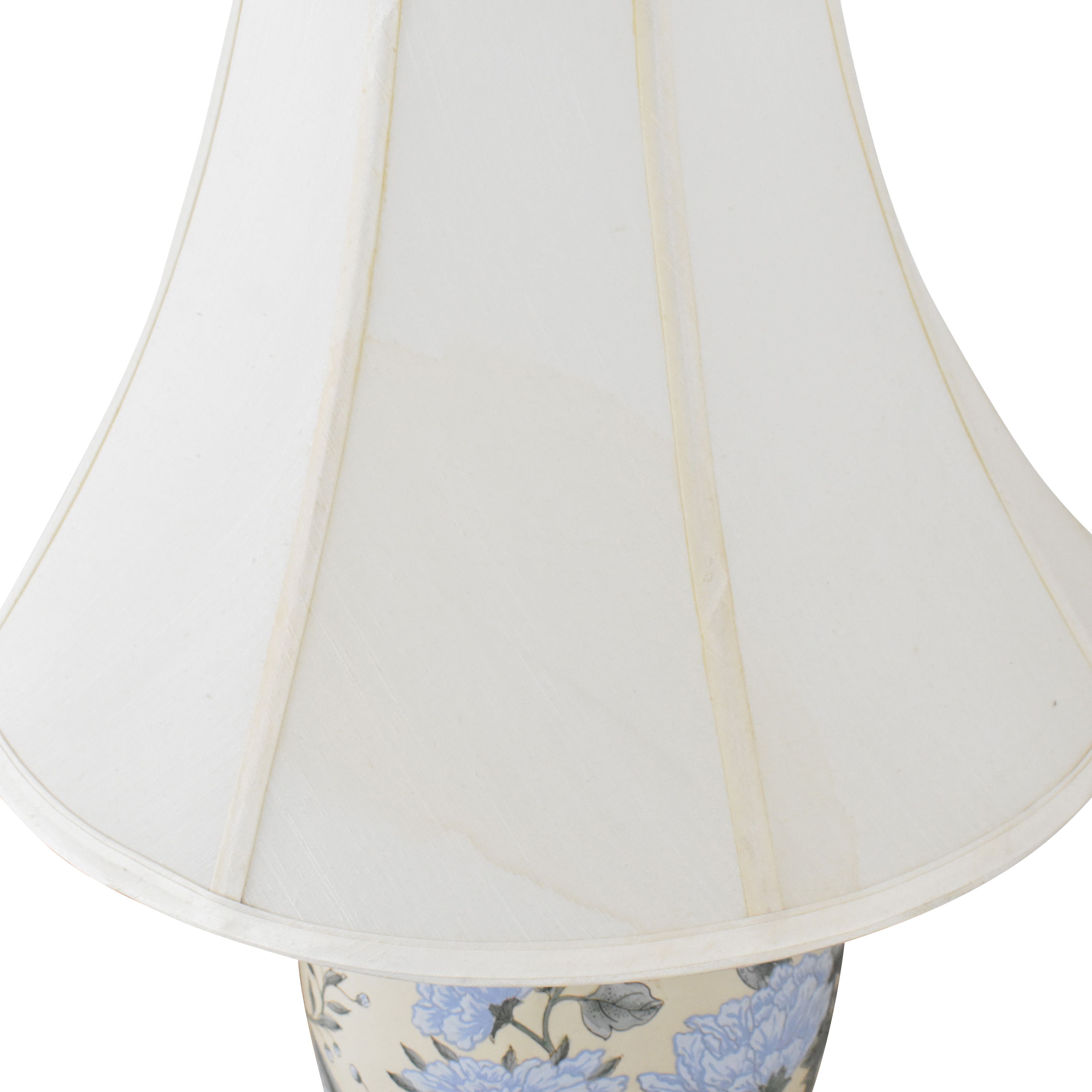 Floral Table Lamp multi