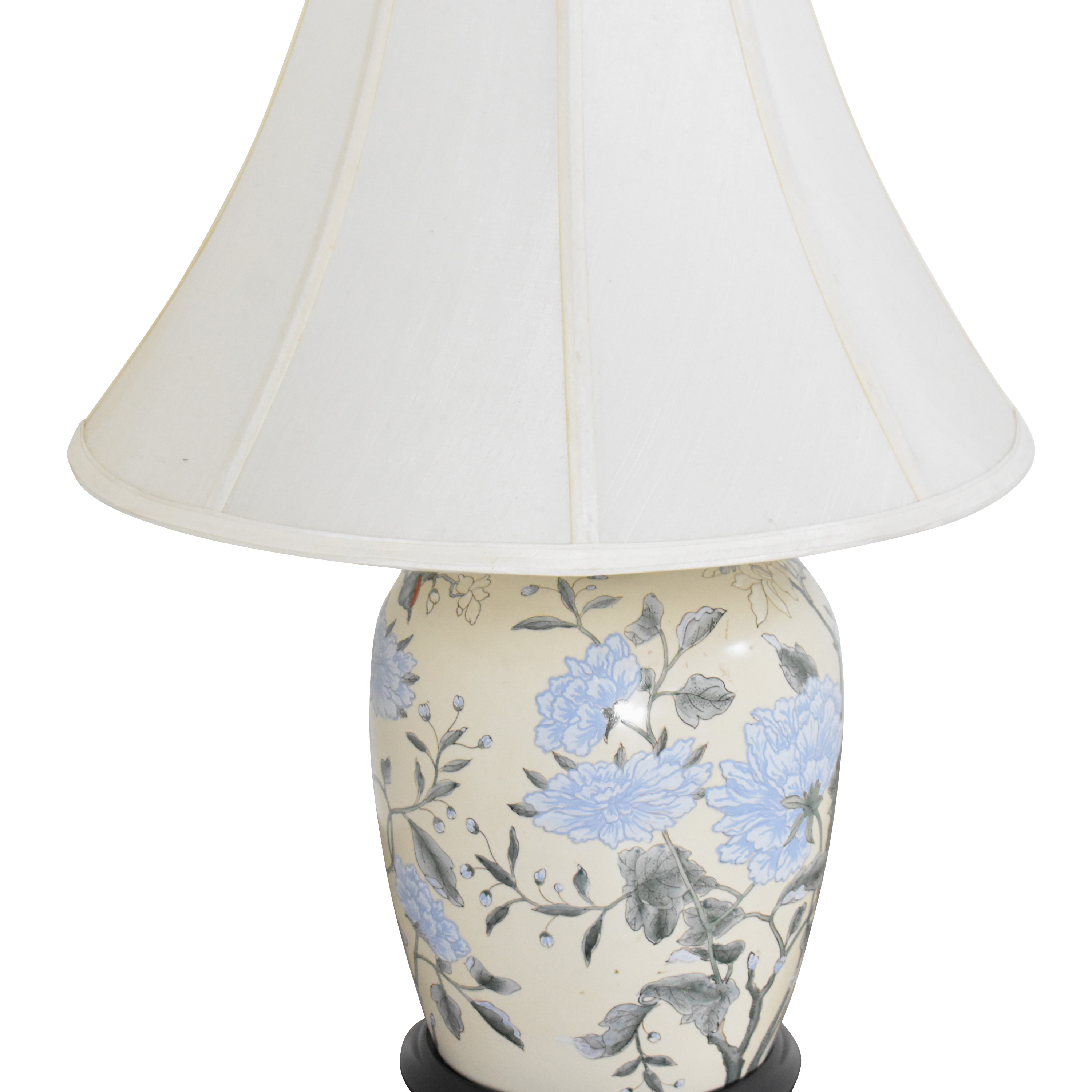 Floral Table Lamp ma