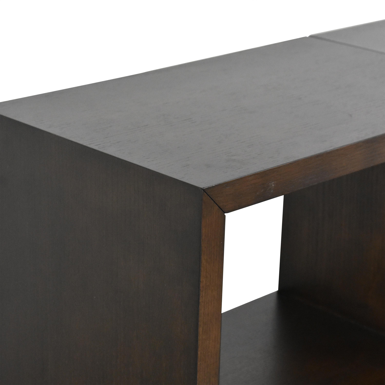 shop Crate & Barrel Aspect Modular Storage Unit Crate & Barrel Cabinets & Sideboards