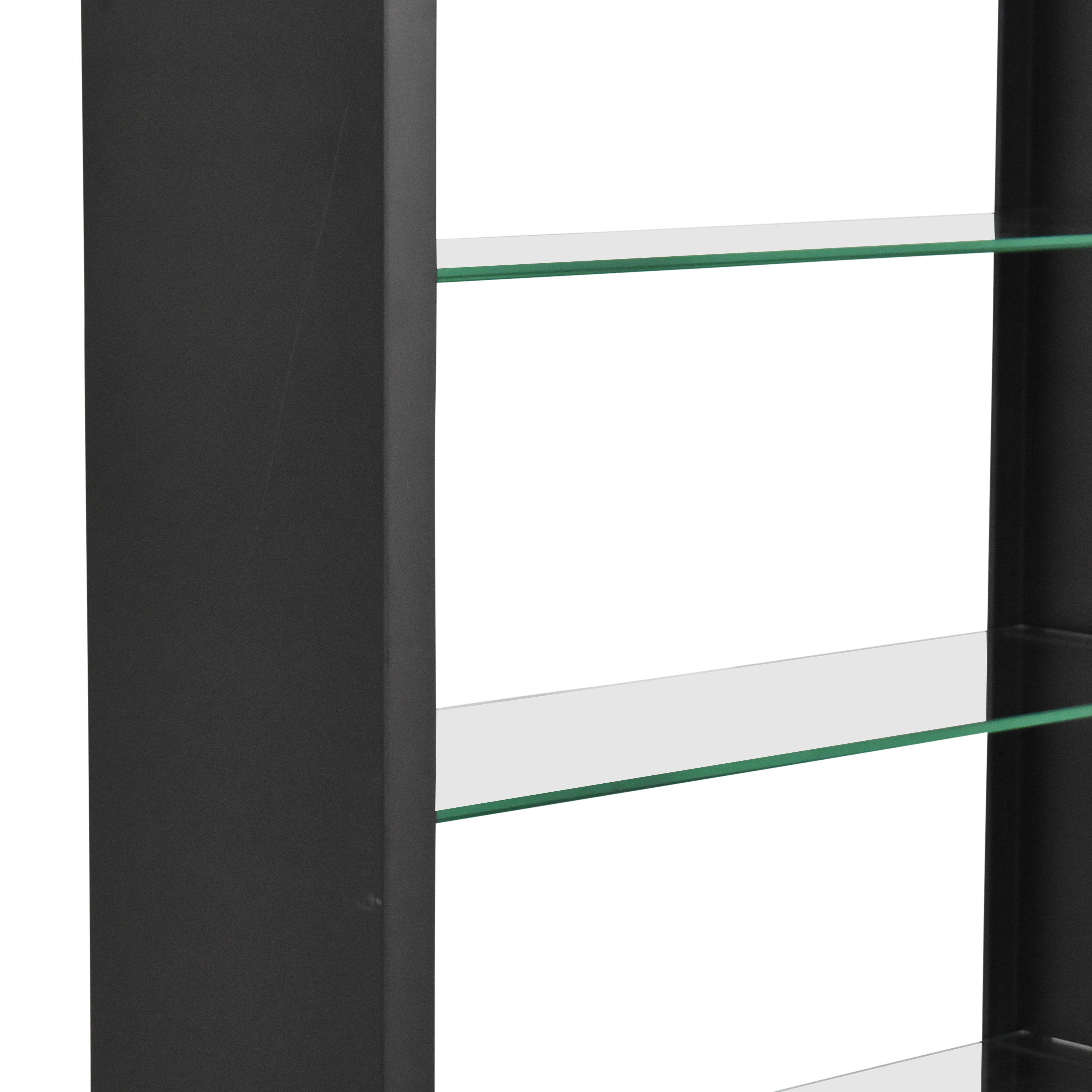 buy  Modern Bookcase with Transparent Shelves online