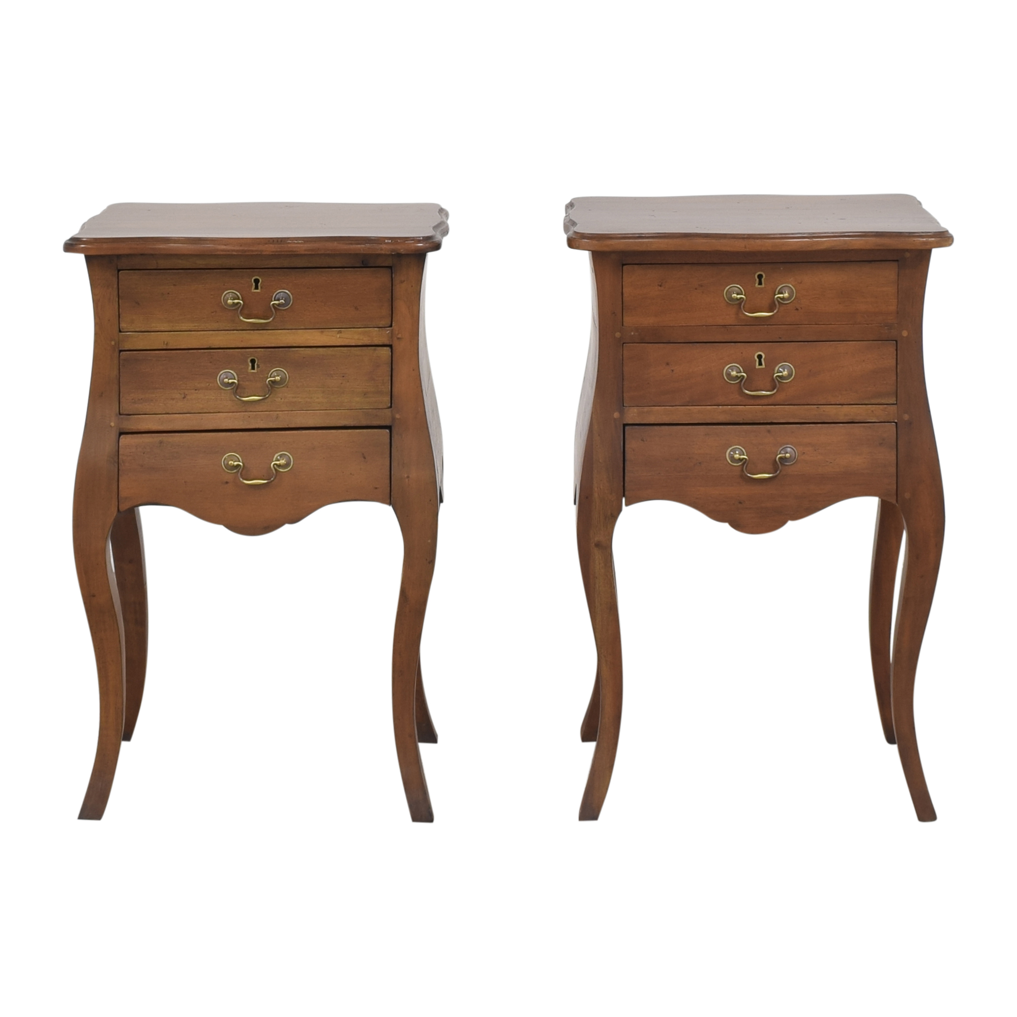 Marie Albert Marie Albert Louis XIV-Style Nightstands ct