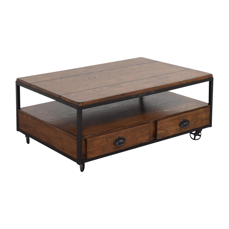 Hammary Furniture Hammary Baja Industrial Coffee Table dimensions