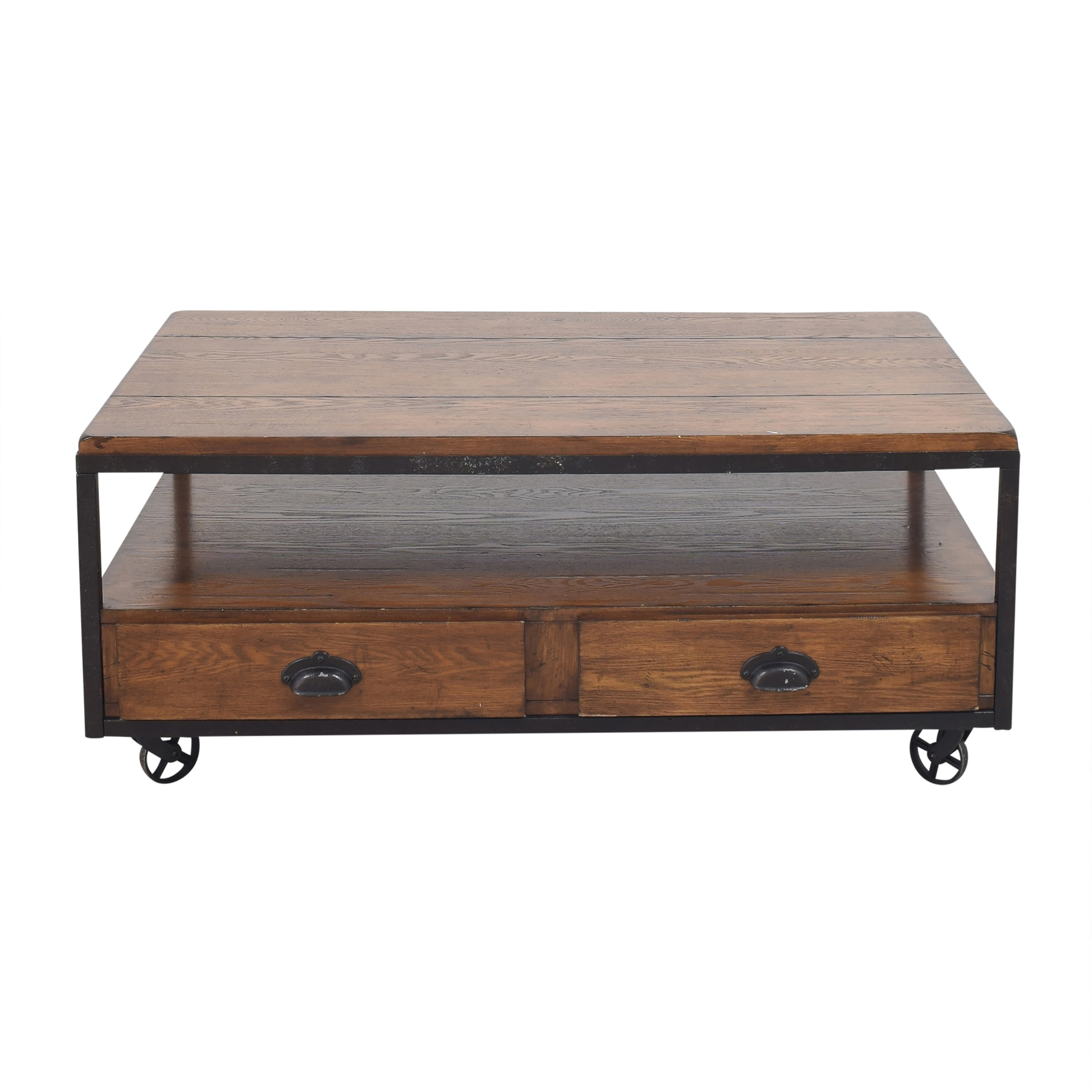 buy Hammary Baja Industrial Coffee Table Hammary Furniture Coffee Tables