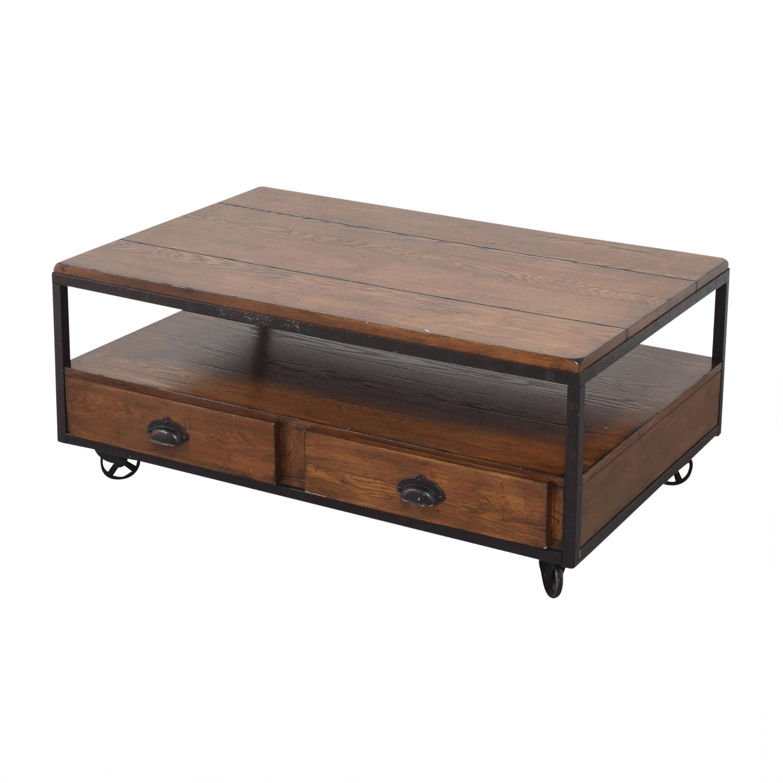 Hammary Furniture Hammary Baja Industrial Coffee Table ct