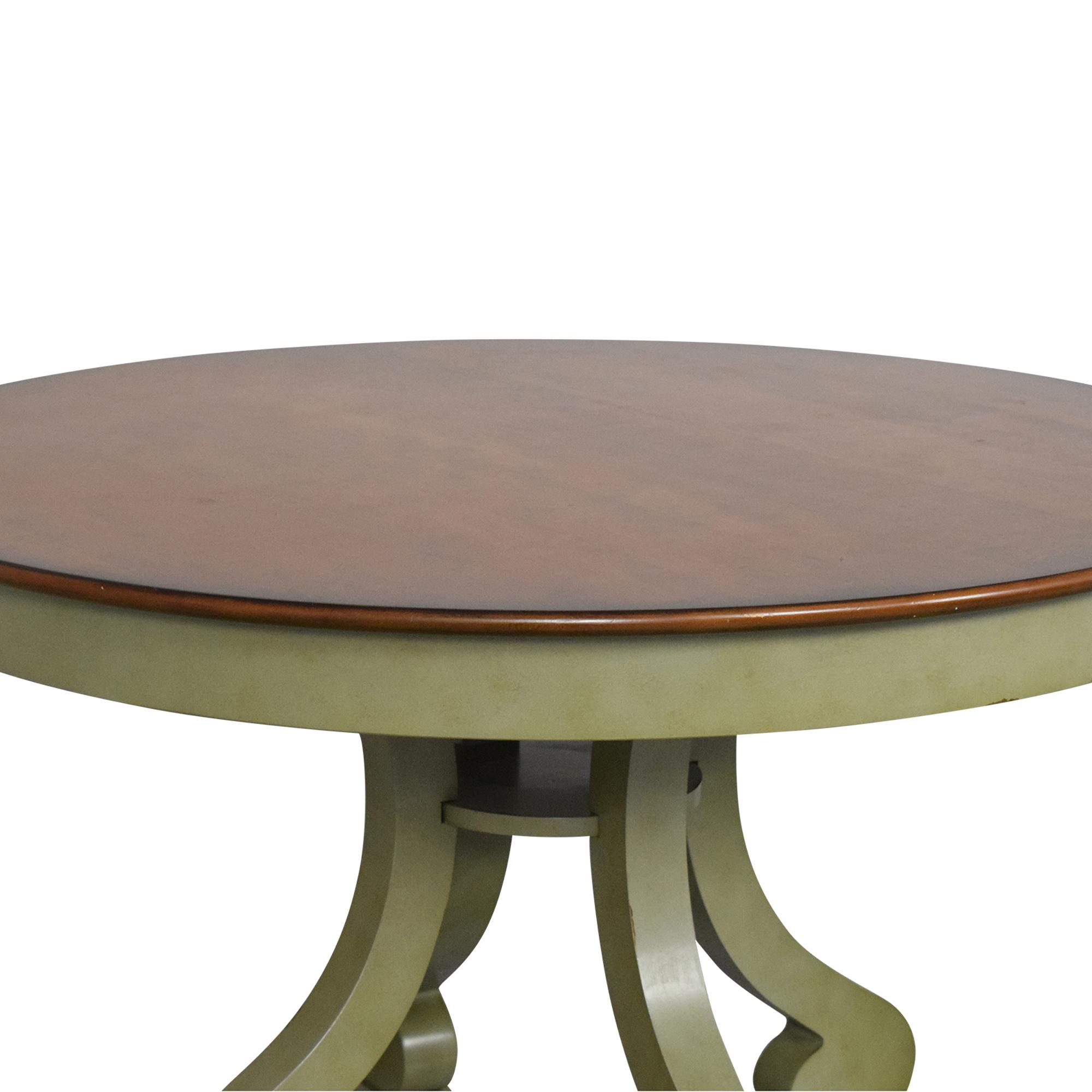 buy Pier 1 Marchella Round Dining Table Pier 1 Tables