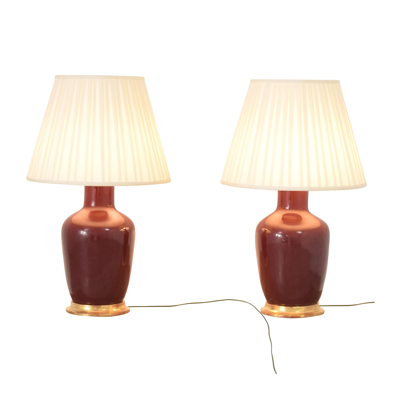 Christopher Spitzmiller Christopher Spitzmiller Ginger Jar Lamps multi