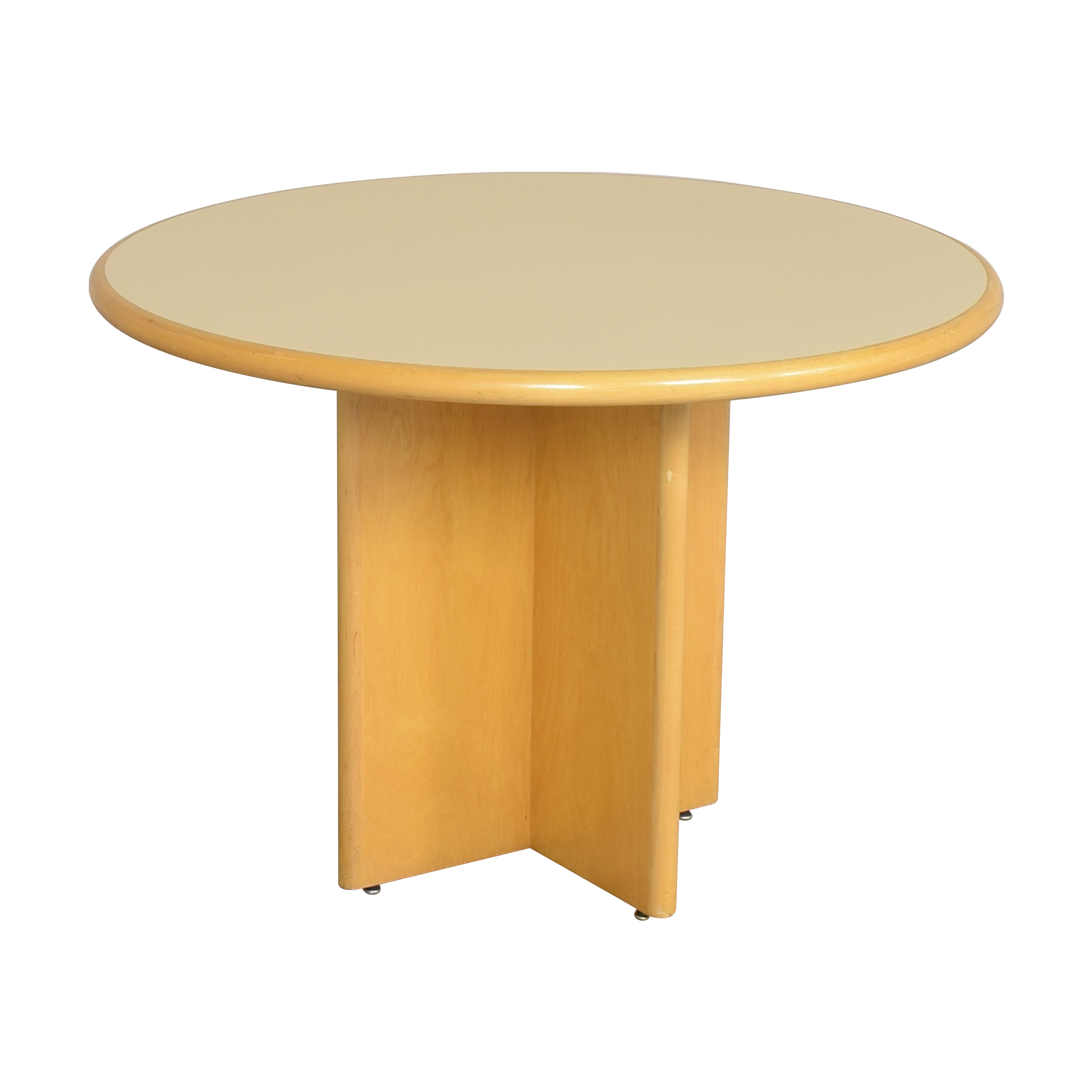 Custom Round Dining Table brown