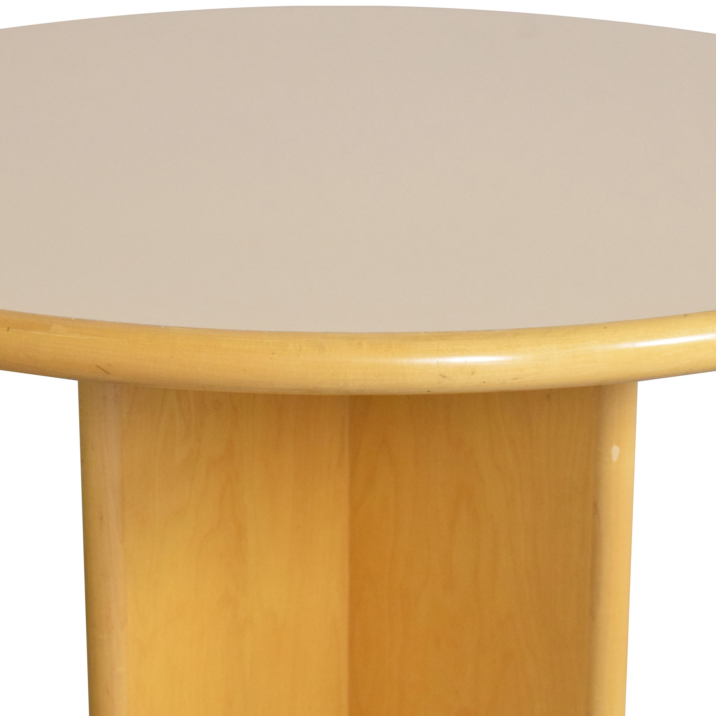 Custom Round Dining Table ct