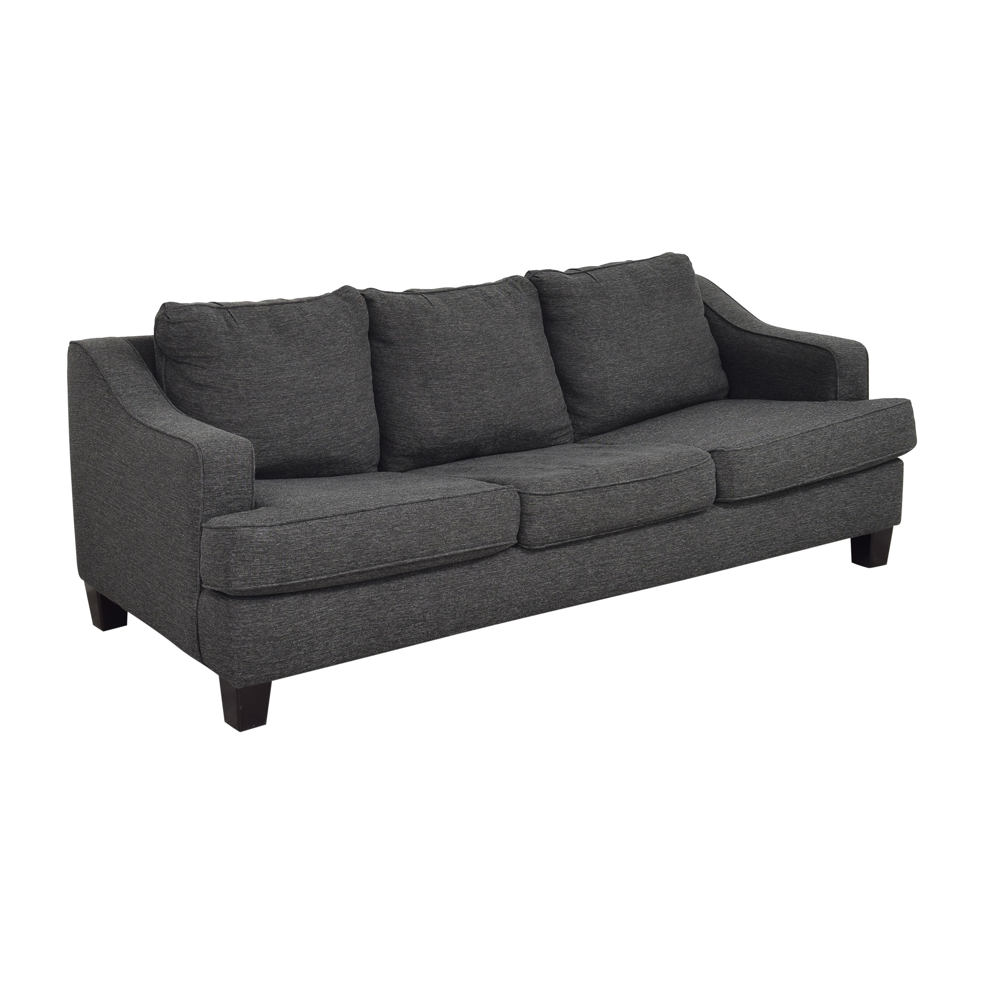 Raymour & Flanigan Raymour & Flanigan Modern Queen Sleeper Sofa dimensions