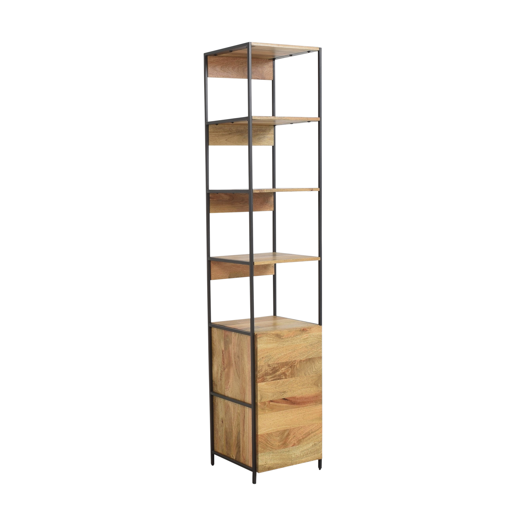West Elm West Elm Industrial Modular Open and Closed Storage